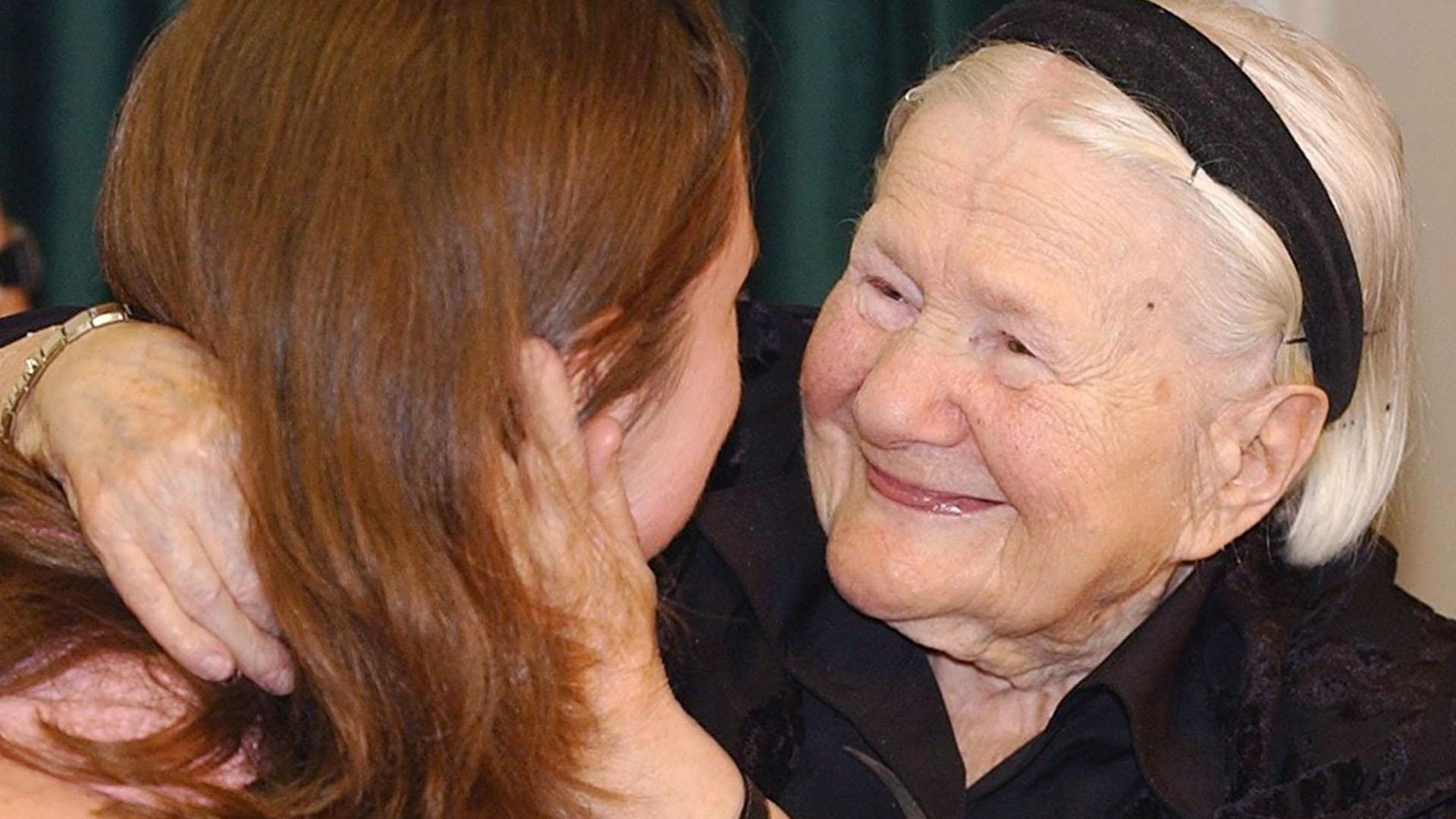 Irena Sendler ha rincontrato i bambini ebrei salvati
