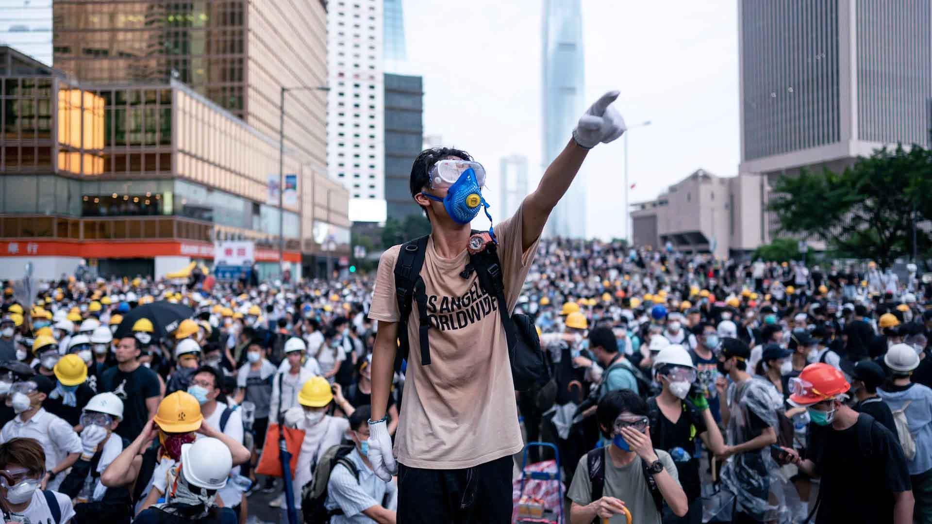 La protesta di Hong Kong del 2019