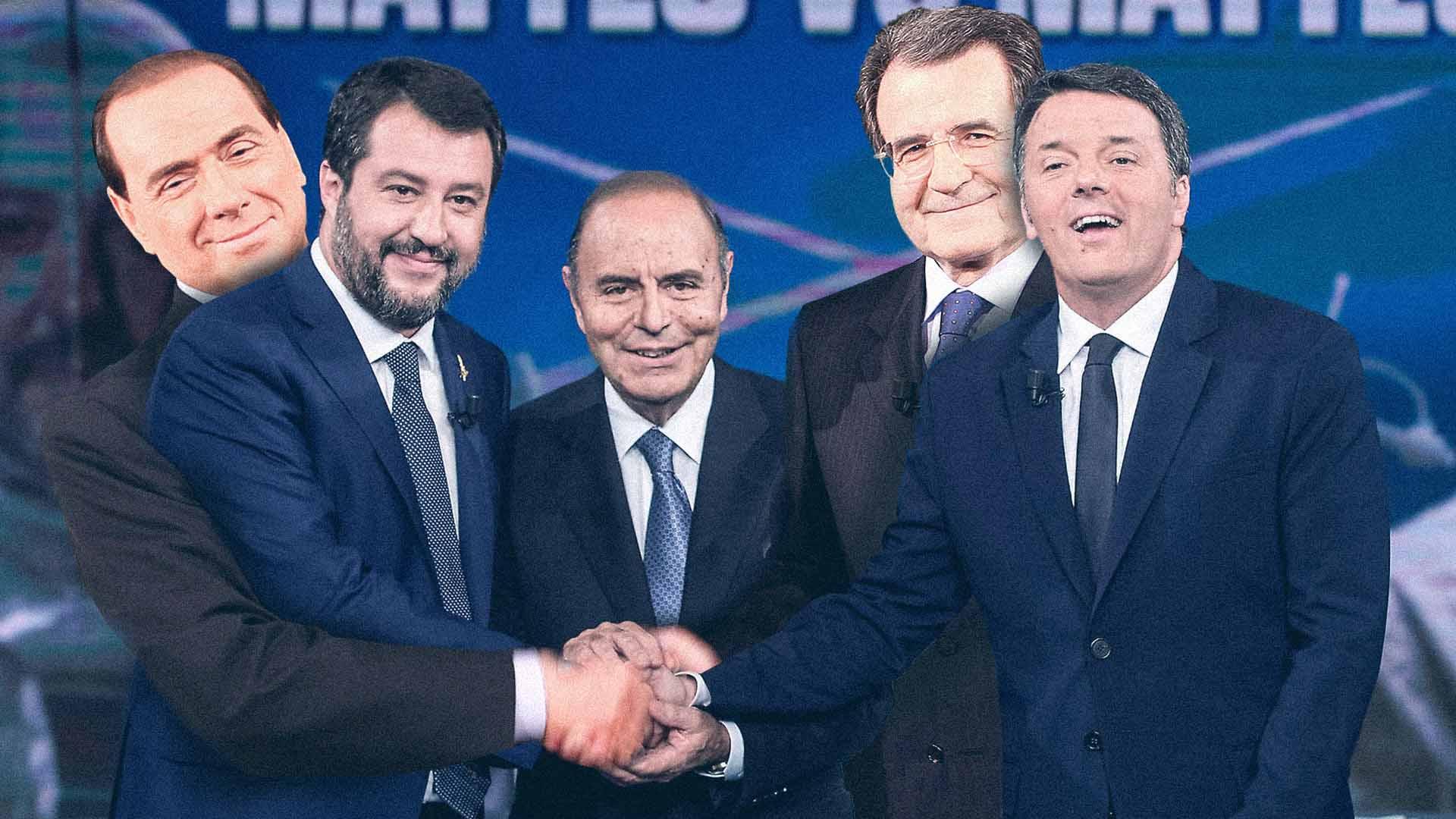 Tutte le differenze tra Prodi vs Berlusconi e Renzi vs Salvini