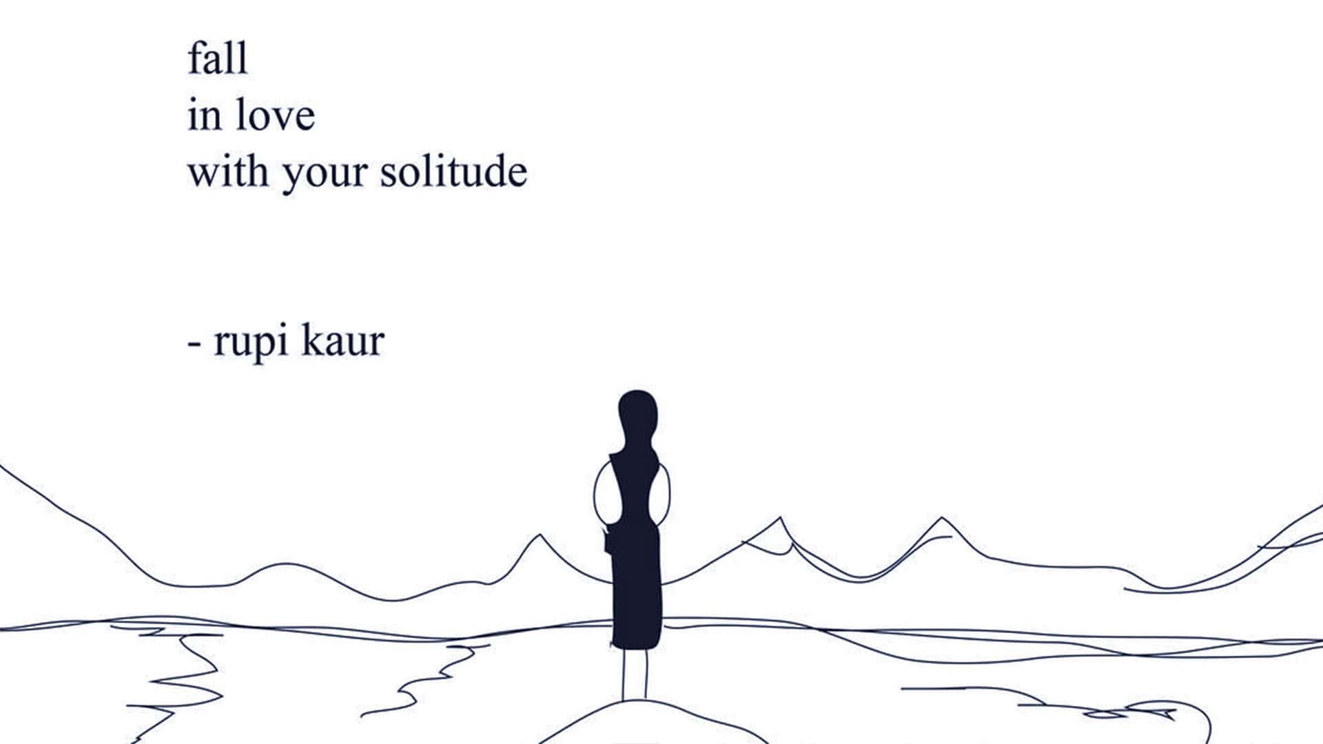 Rupi Kaur è una famosa Instapoet