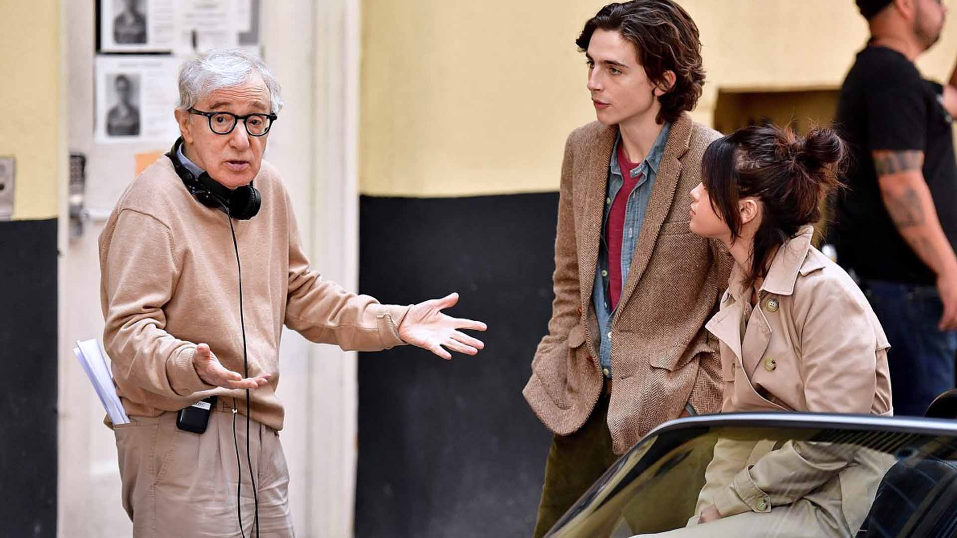 La firma di Woody Allen è inconfondibile