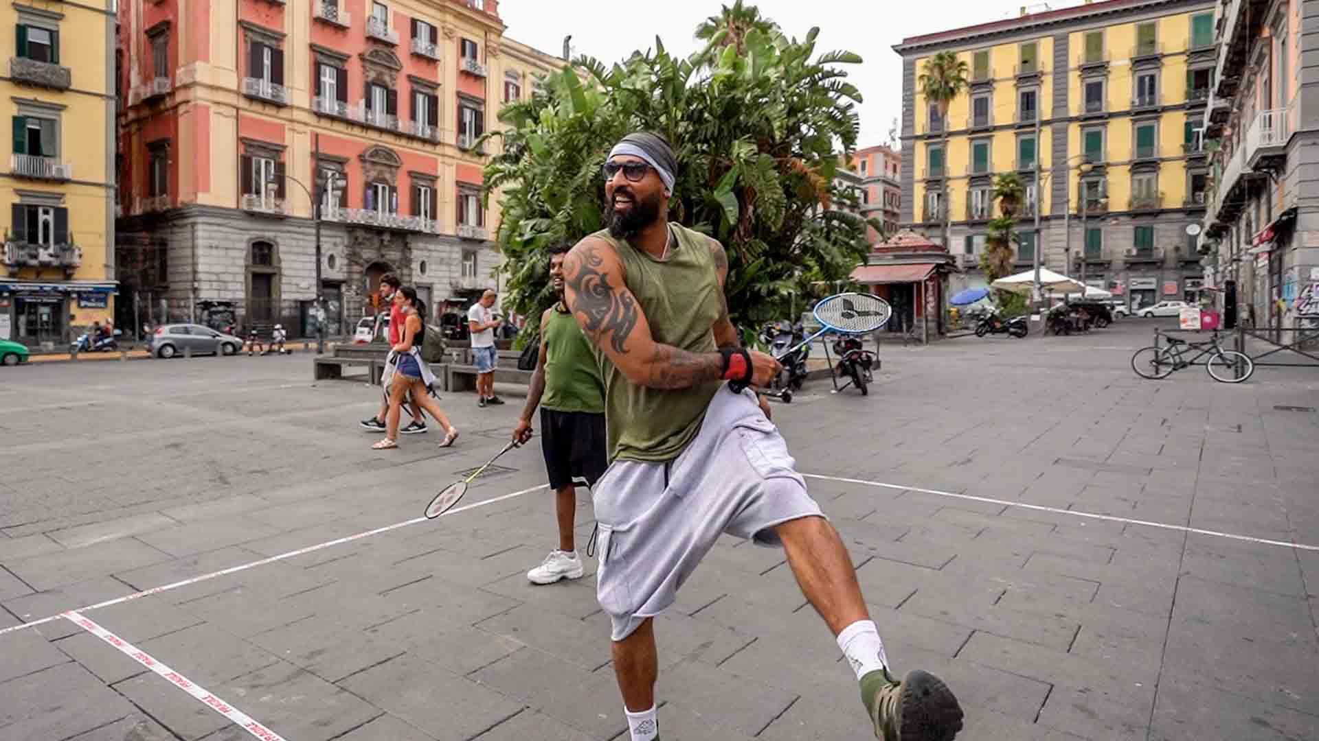 La comunità dello Sri Lanka che gioca a Badminton a Napoli sognando le Olimpiadi