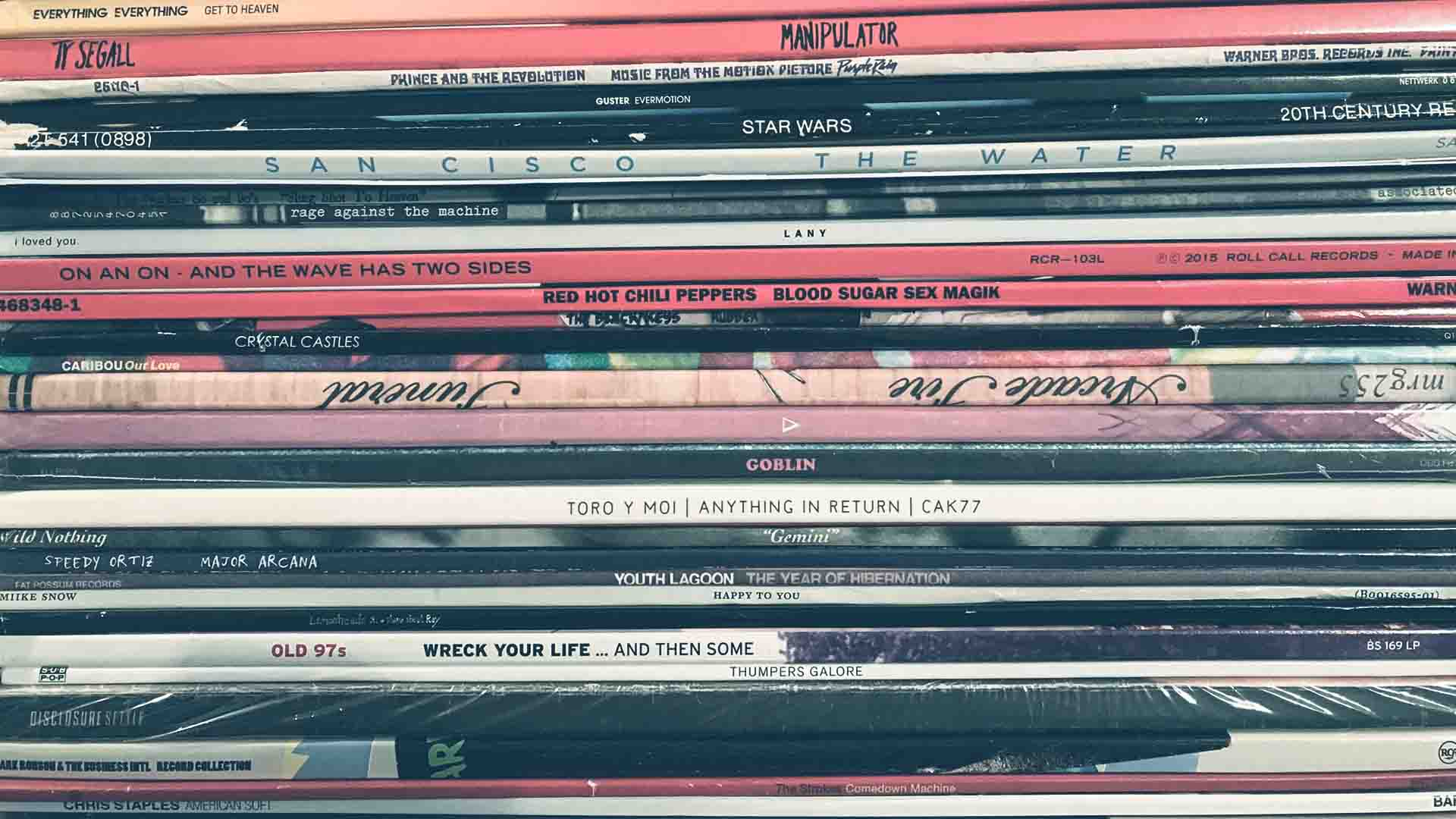 Le copertine dei dischi in vinili conservano ancora un grande fascino