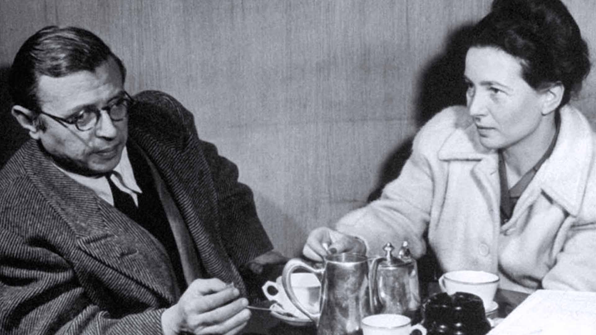 Jean-Paul Sartre e Simone de Beauvoir
