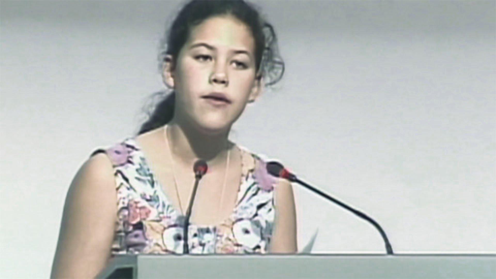 Il discorso che ammutolì il mondo per cinque minuti di Severn a Rio, nel 1992