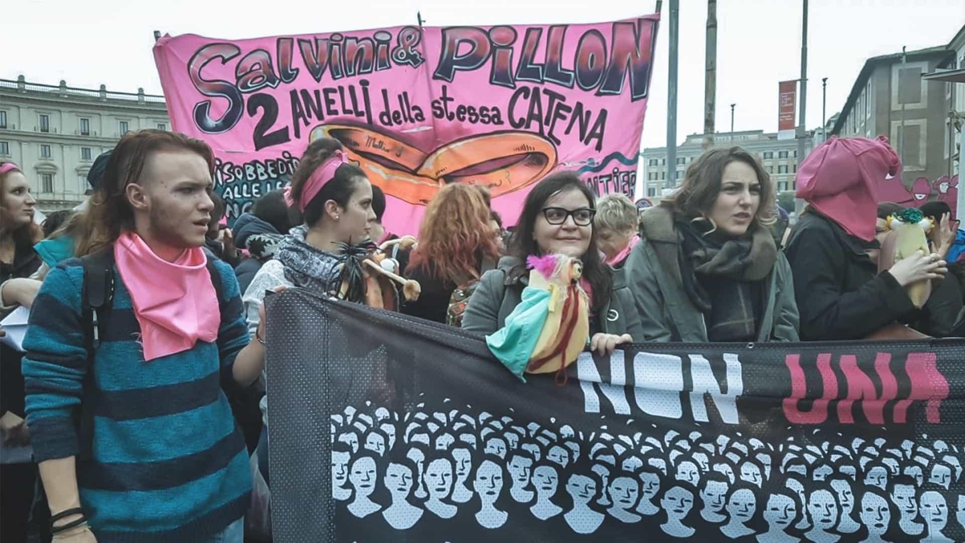 Il ddl Pillon ha generato proteste in tutta Italia