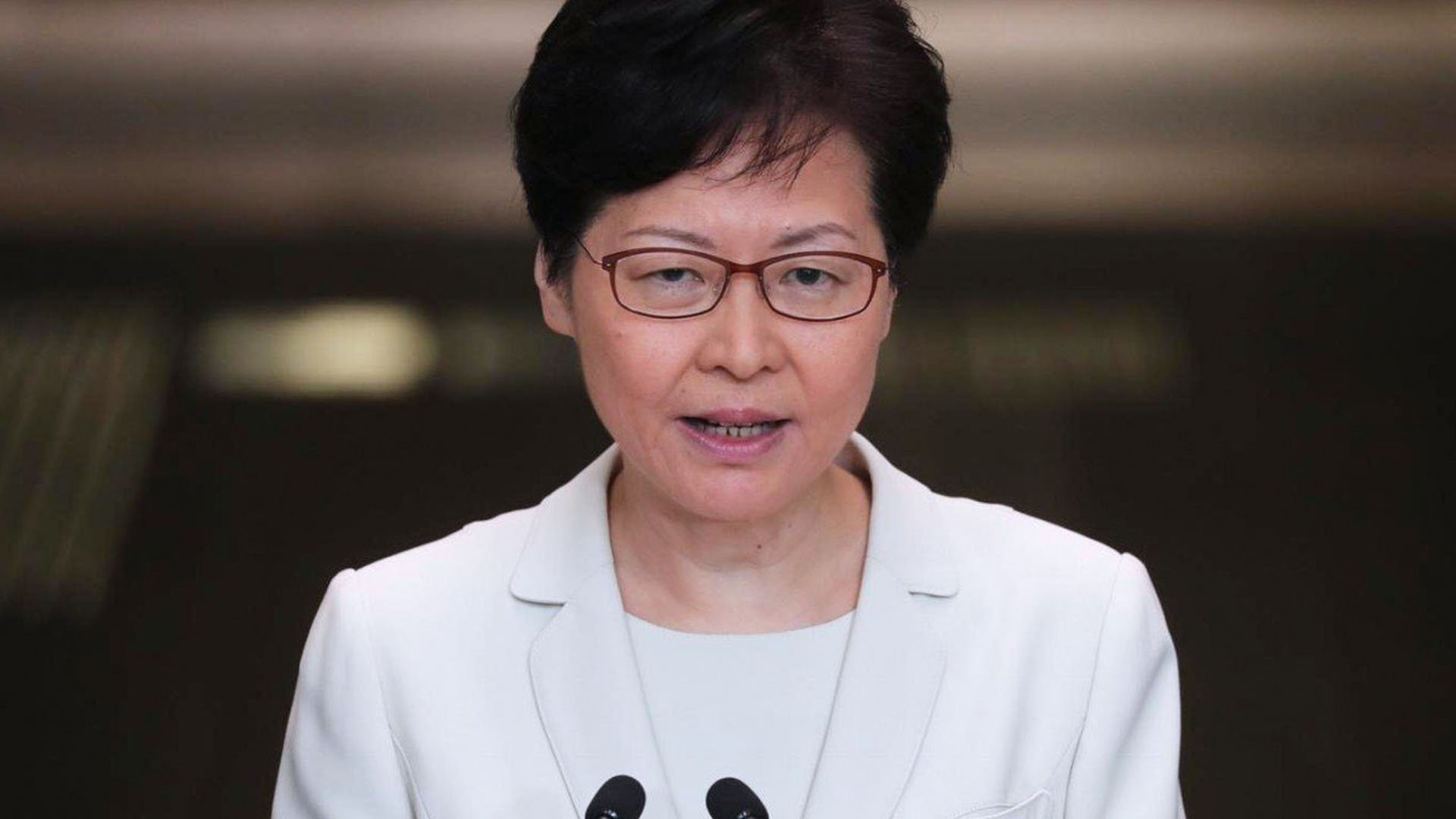Carrie Lam, Chief Executive di Hong Kong