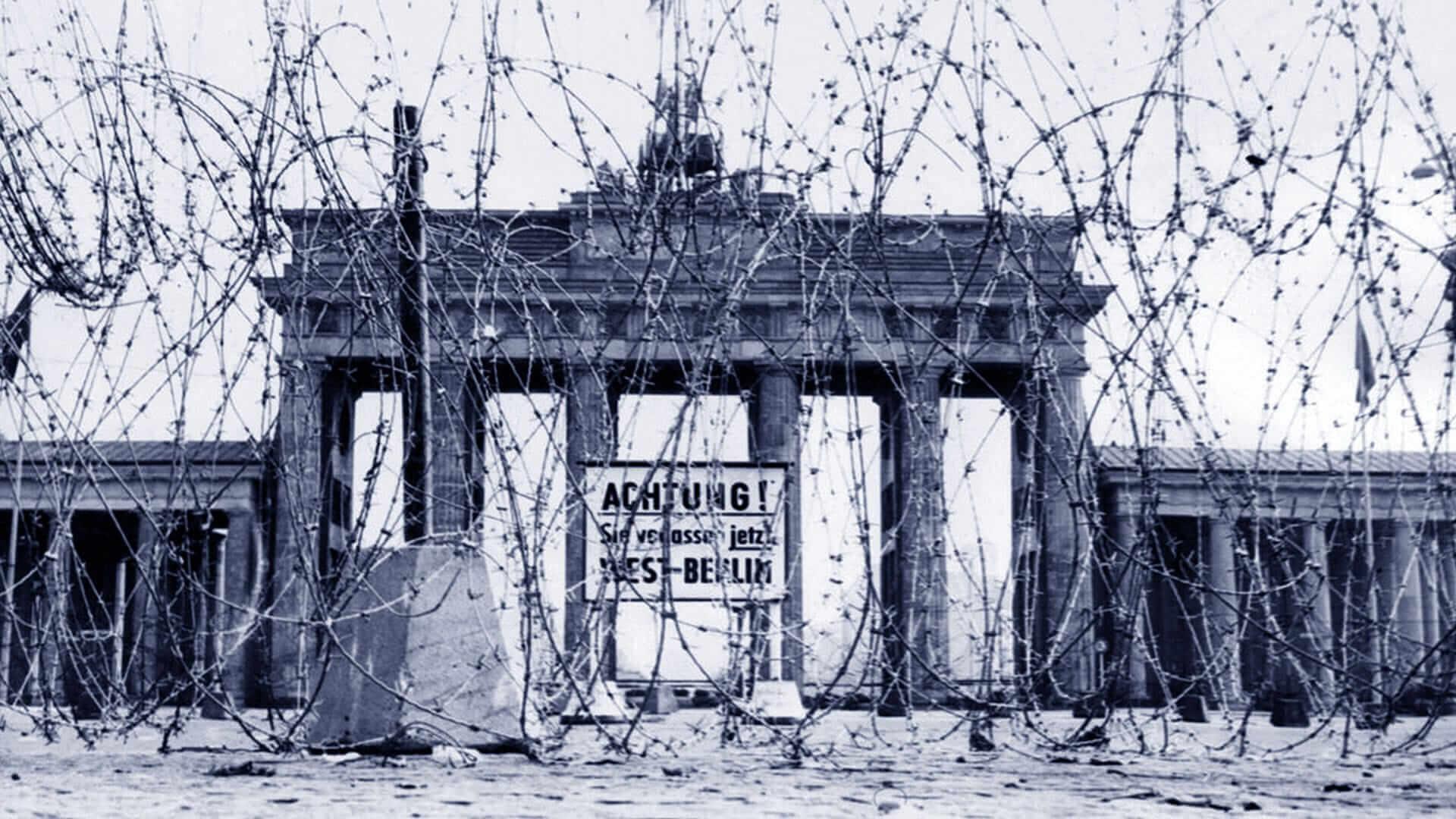 La lunghezza del Muro di Berlino superava i 150 km