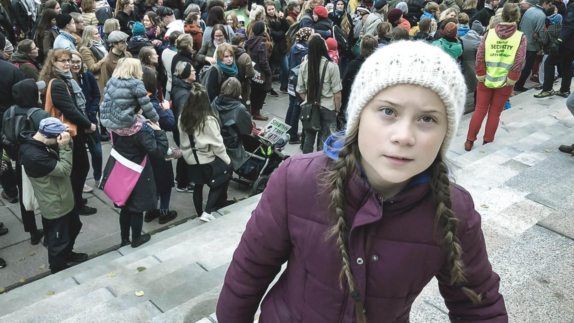 Greta Thunberg è stata ricevuta persino da Papa Francesco