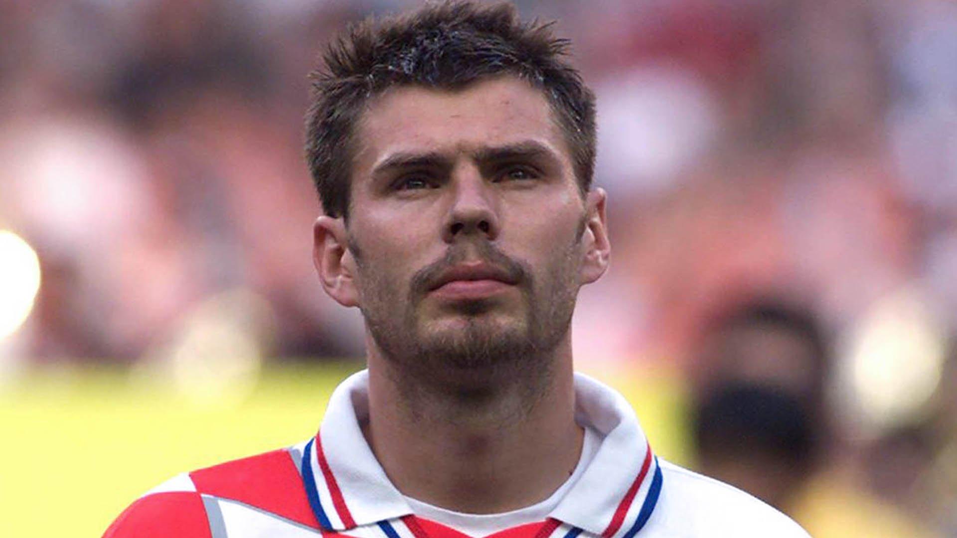 Il calciatore Zvonimir Boban poi passato al Milan