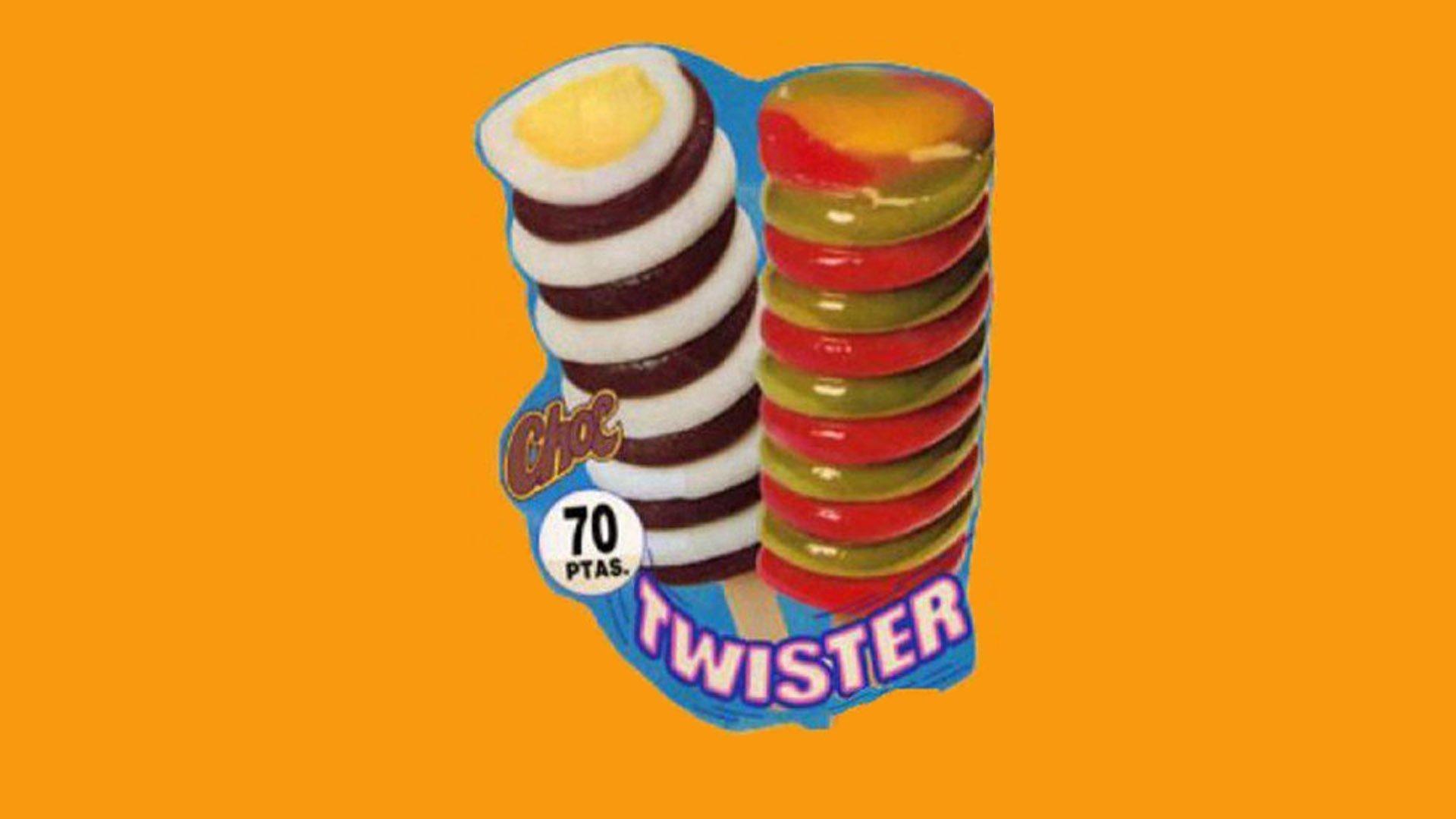 Il Twister era un ghiacciolo cremoso di fiordilatte e cioccolato