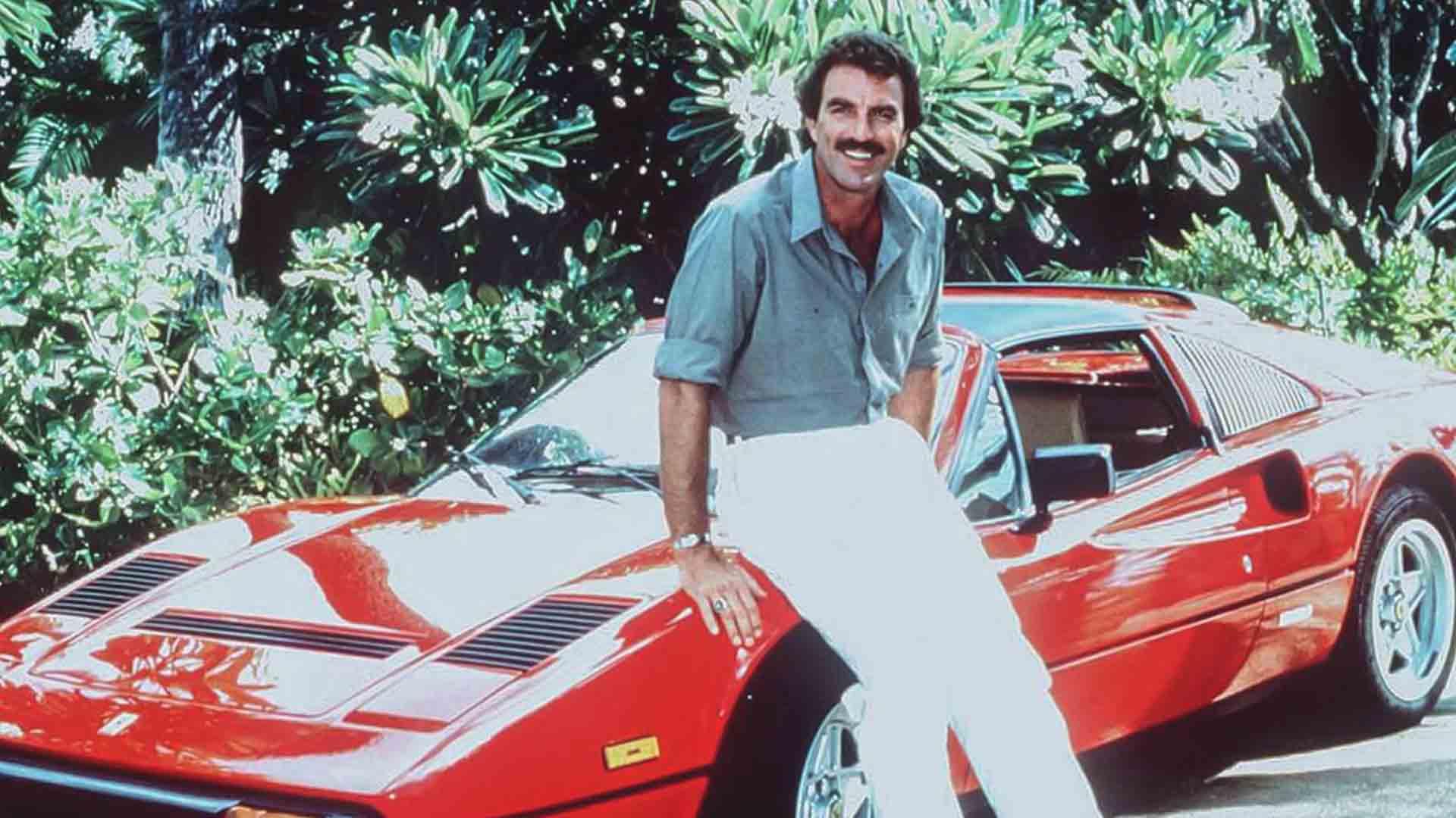 Magnum P.I. non sarebbe stato lo stesso senza la Ferrari 308 GTS