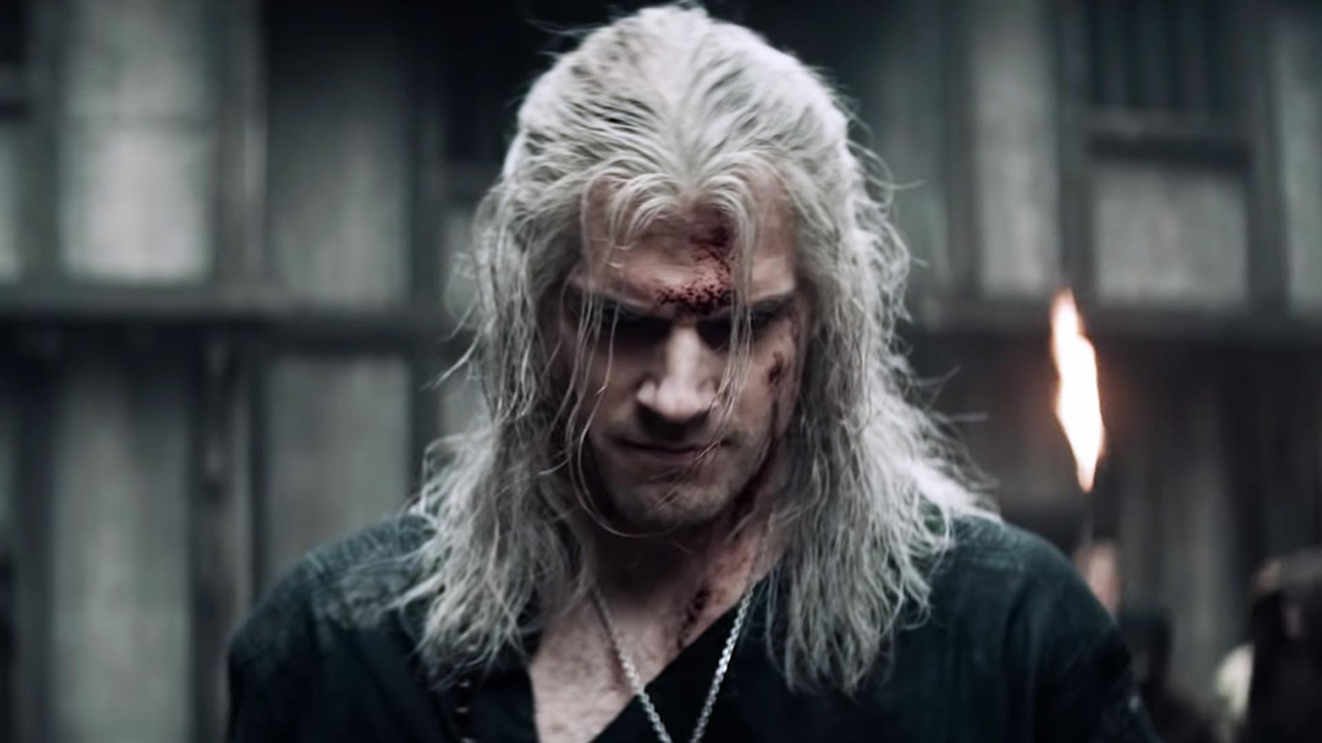 Henry Cavill è Geralt di Rivia in The Witcher
