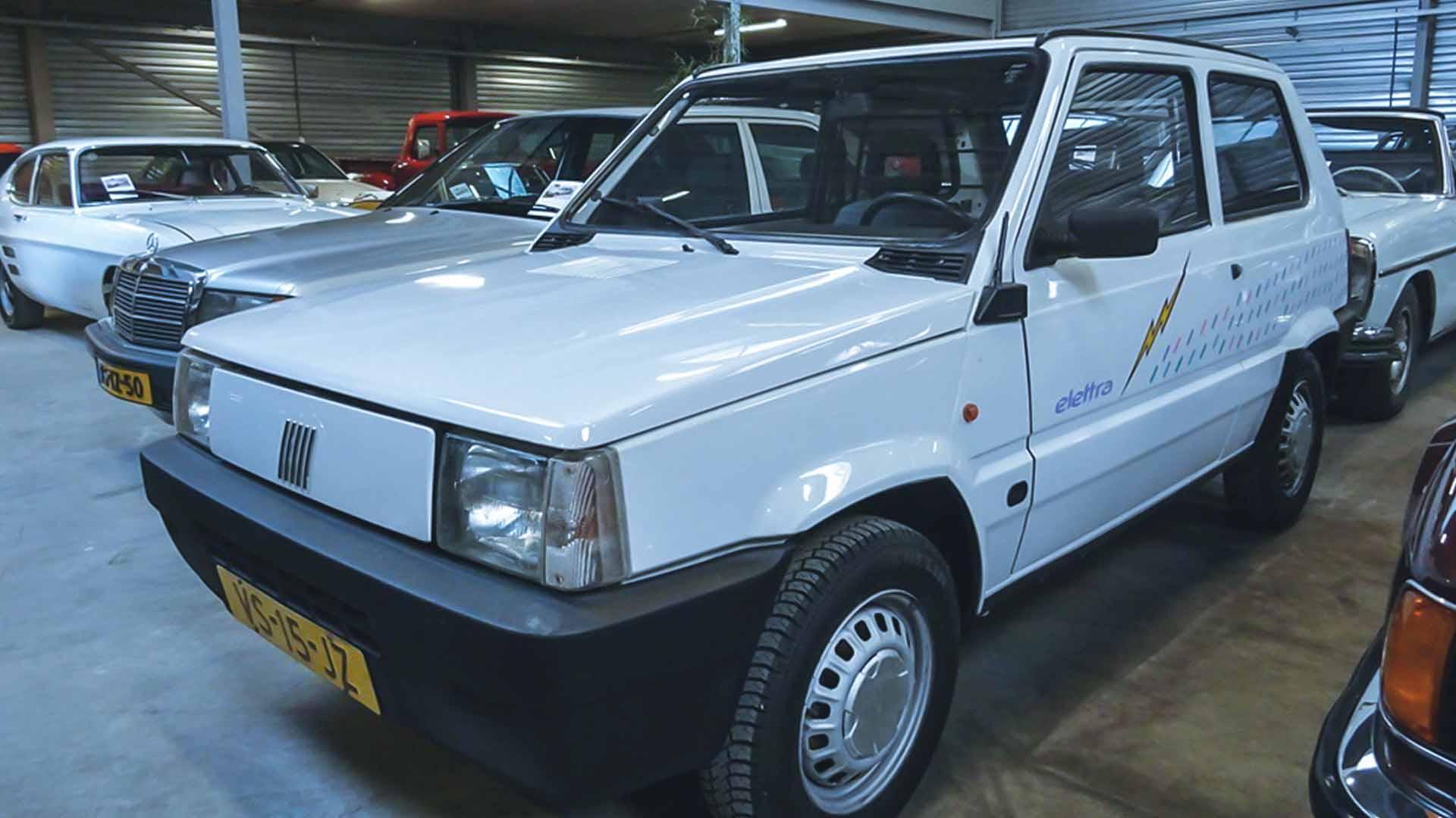 La Panda Elettra è stata la prima auto elettrica commercializzata al mondo