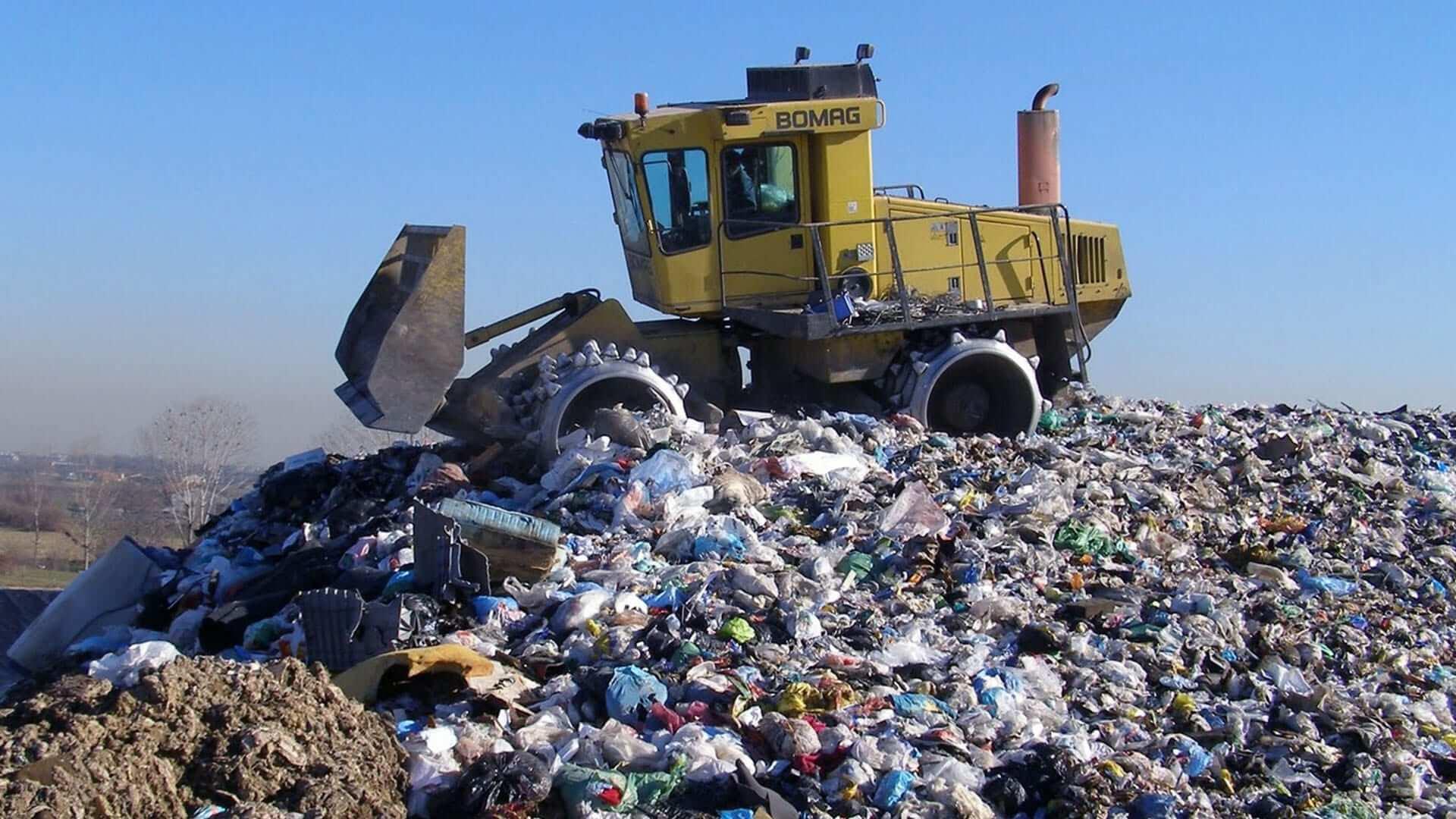 Le discariche di Milano, Roma e Brescia sono solo alcuni dei siti italiani a rischio