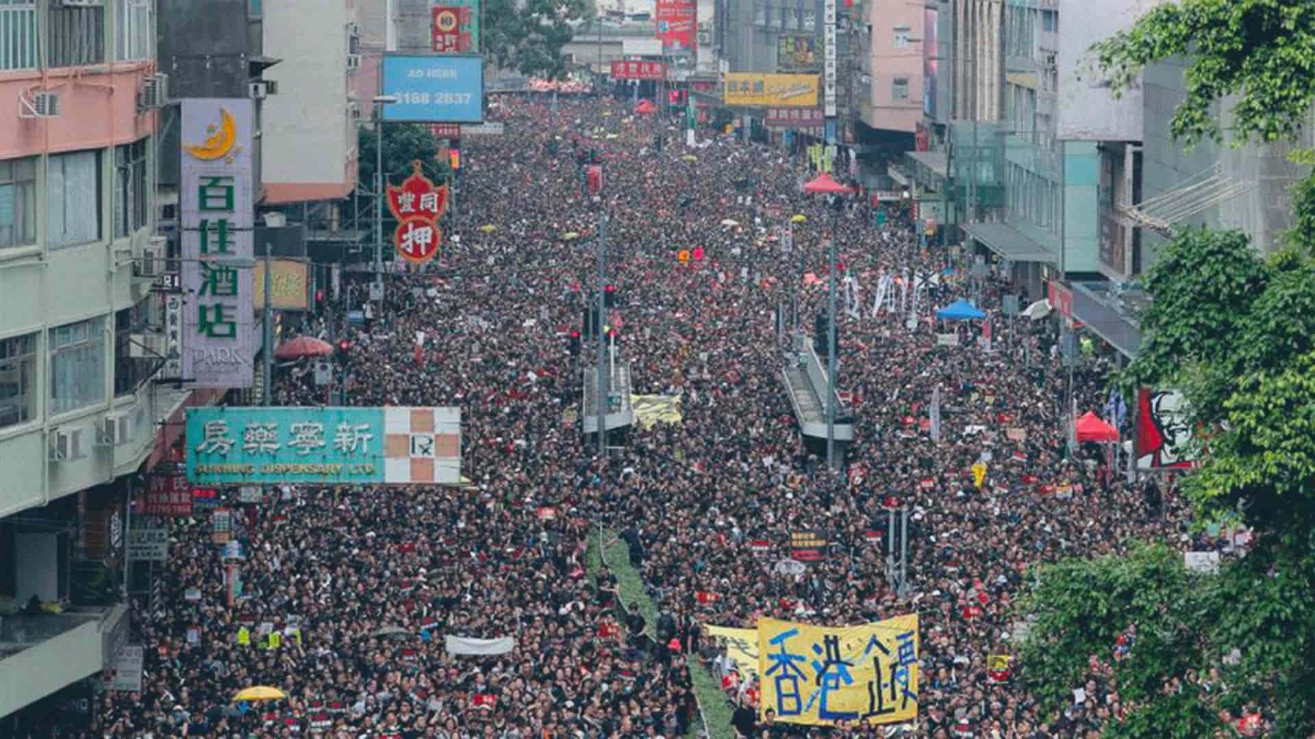 Le proteste di Hong Kong sono state tra le grandi manifestazioni della nostra epoca
