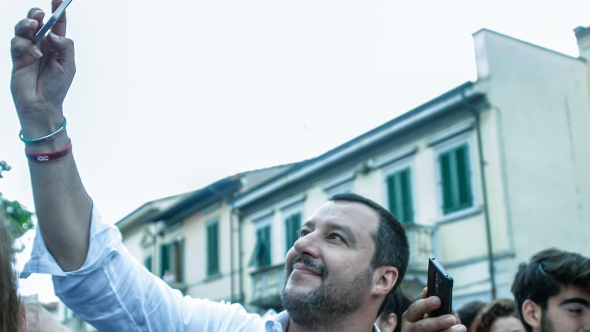 Salvini è il politico-influencer più importante d