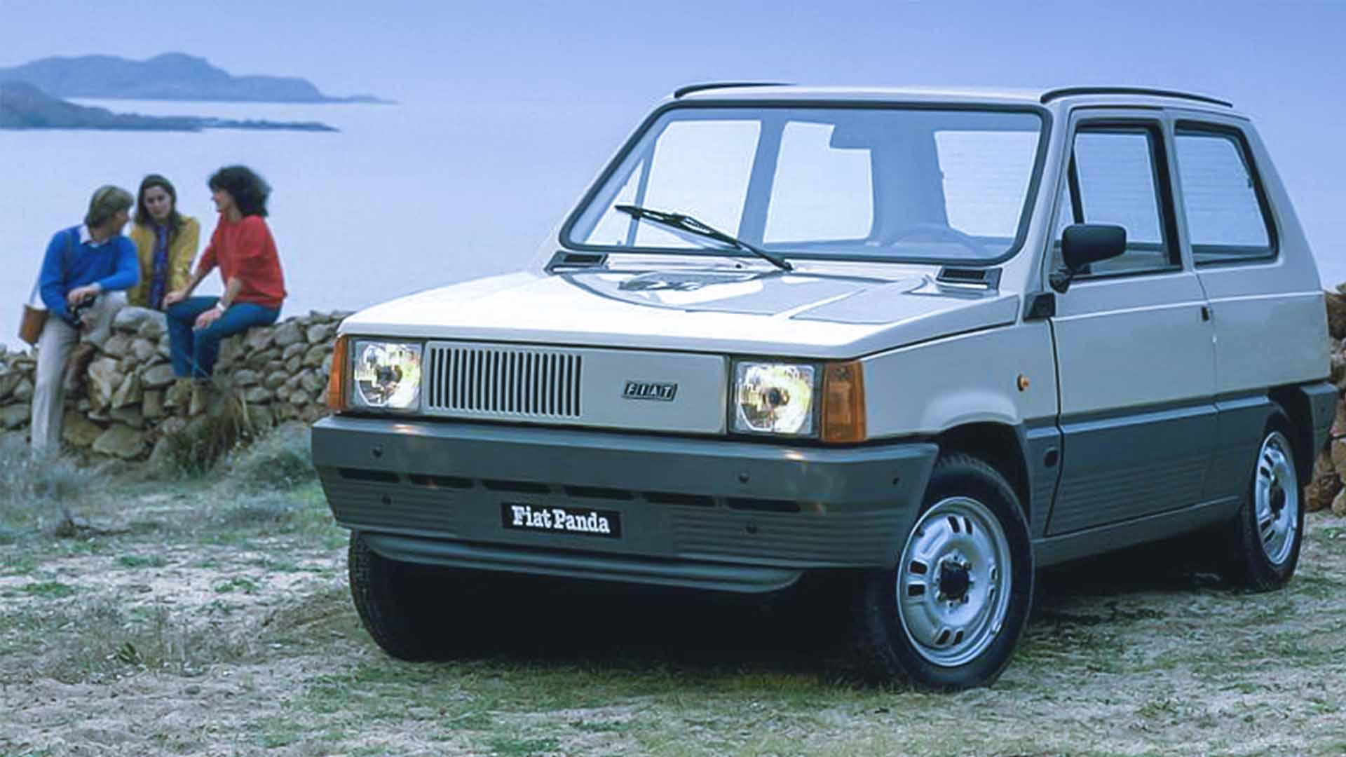 La Fiat Panda, col modello Elettra, è stata una delle prime macchine ad alimentazione elettrica