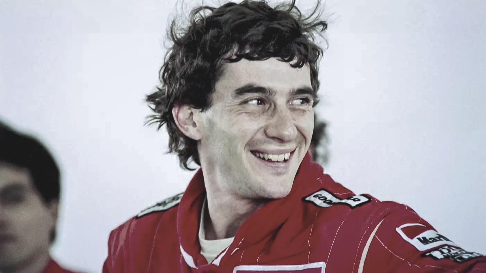 Copertina Ayrton Senna