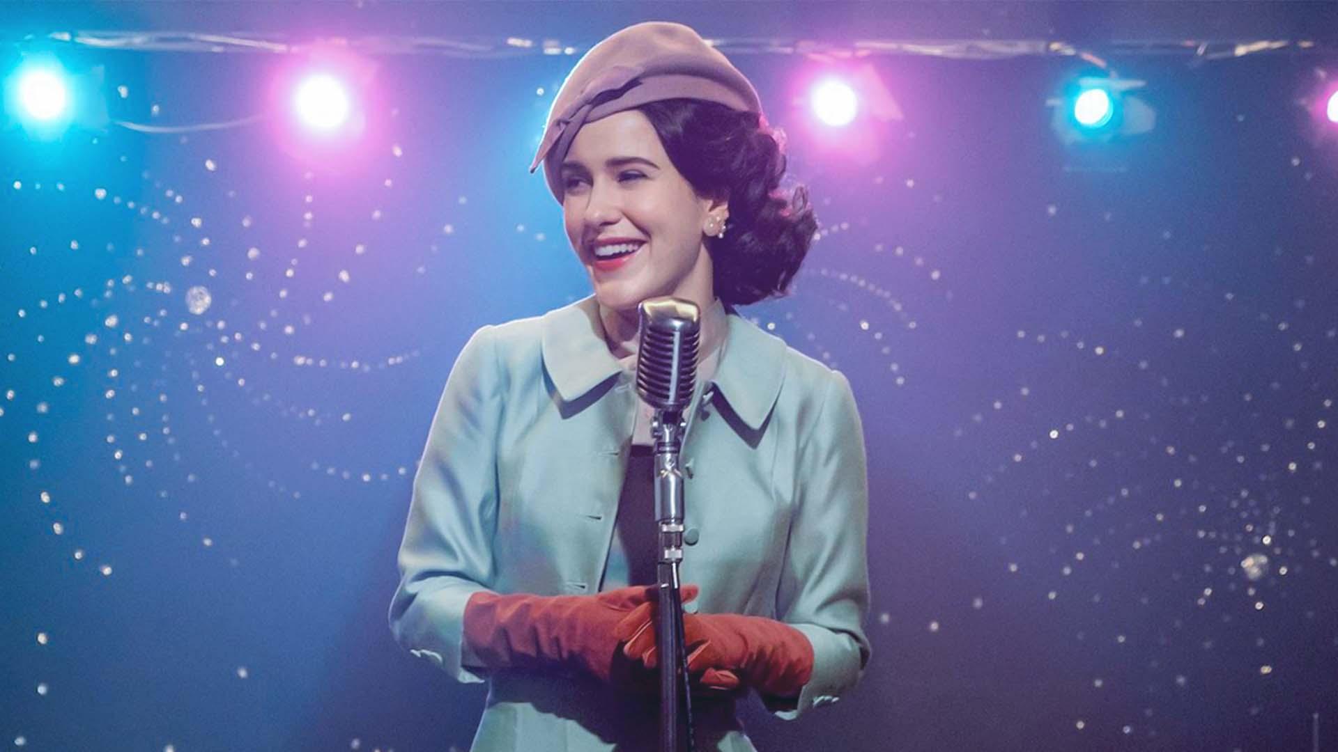 In Marvelous Mrs Maisel una donna reinventa la sua vita attraverso la stand-up comedy
