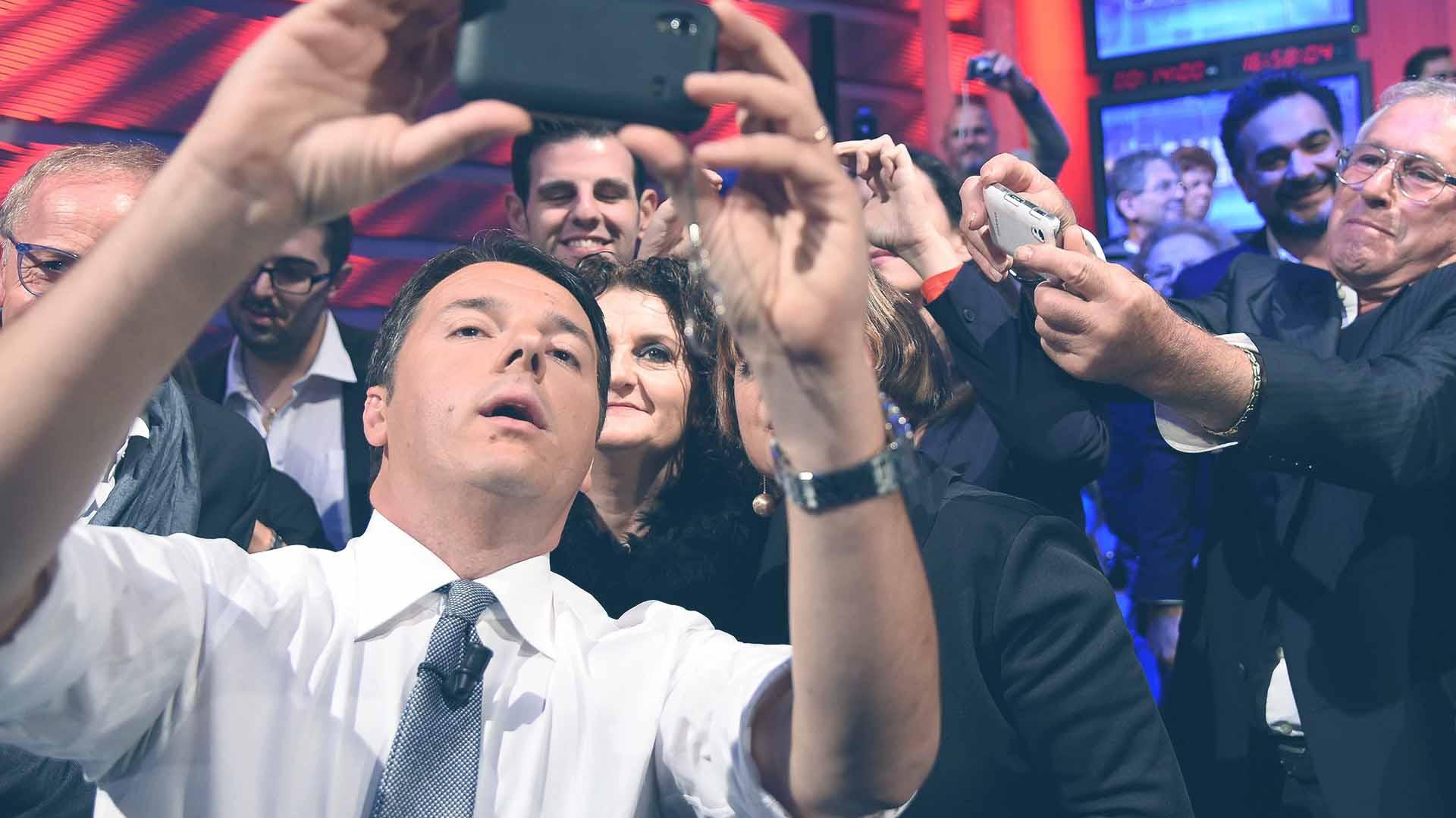 Renzi ha spesso usato i social come mezzo di comunicazione privilegiato