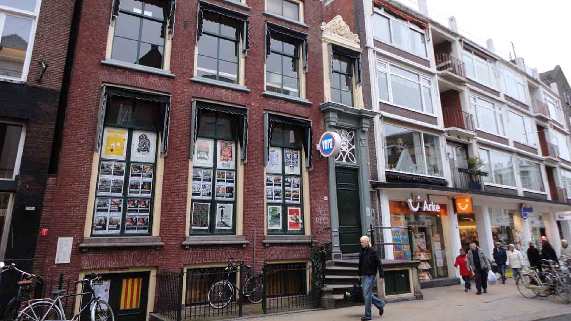 Il Club Vera a Groningen, dove suonarono Eddie Vedder e i The What