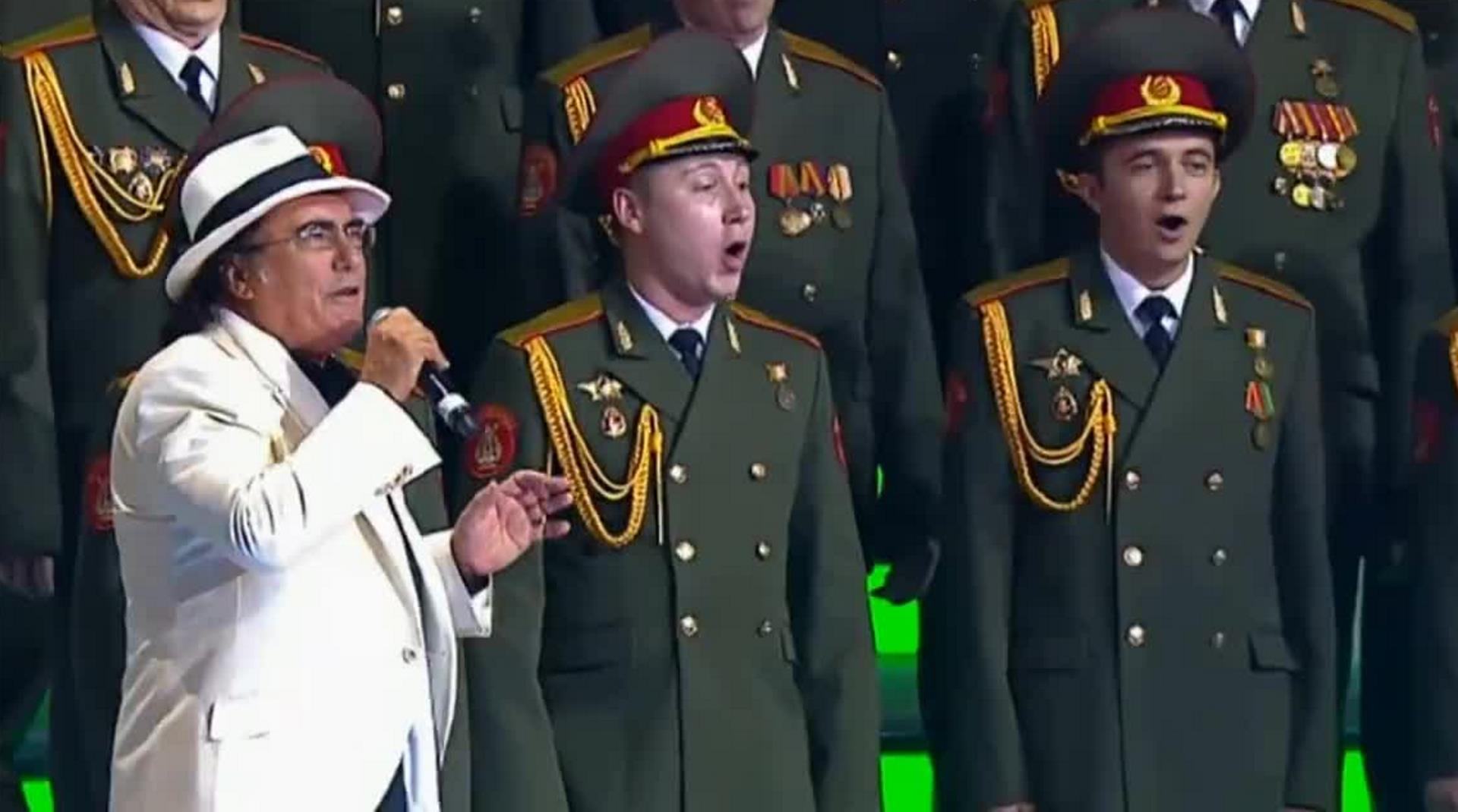 Al Bano e il coro dell