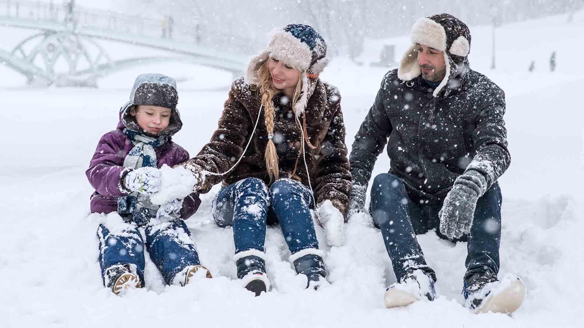 Le vacanze sulla neve erano comuni trent