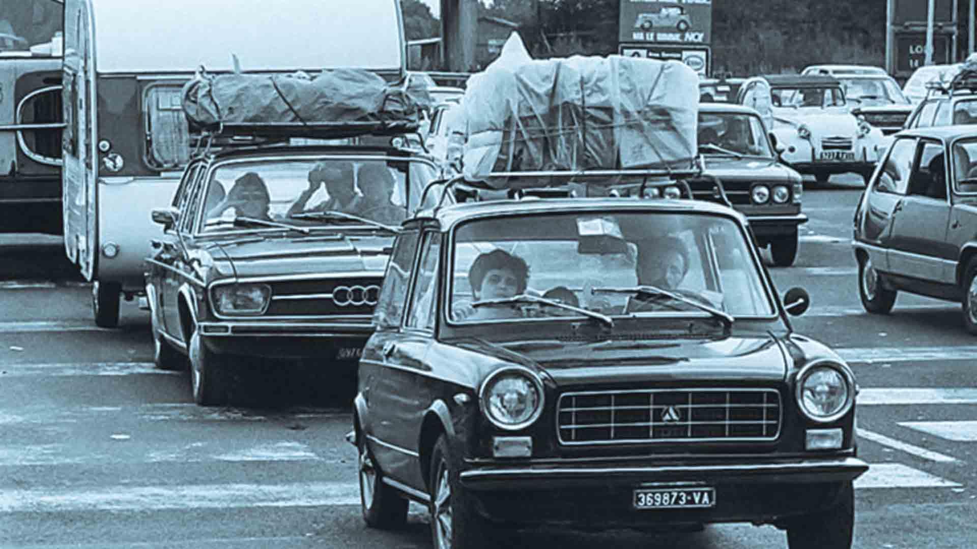 La vacanza in macchina fu una delle novità del boom economico