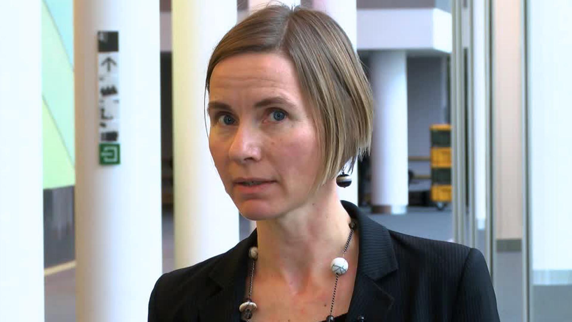 Franziska Achterberg, portavoce di Greenpeace