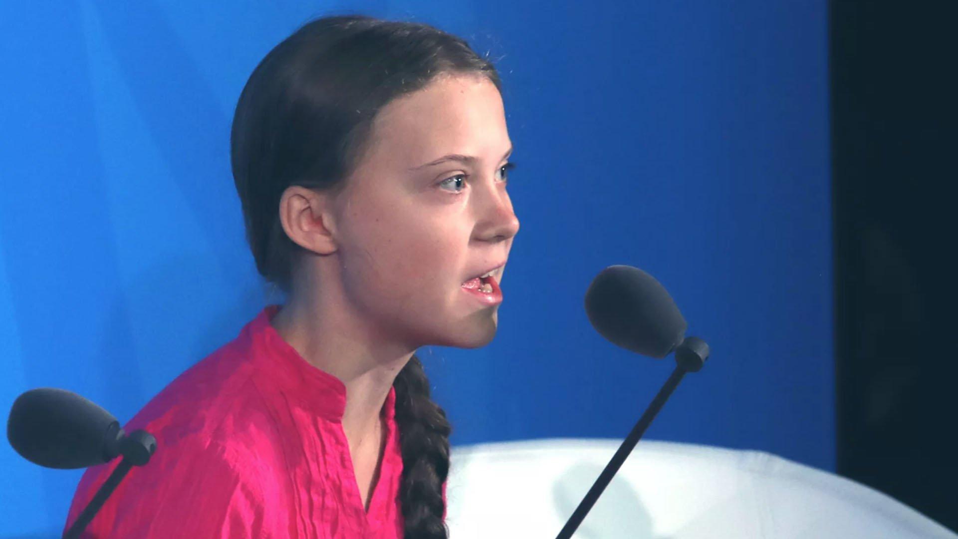 Greta Thunberg al summit delle Nazioni Unite