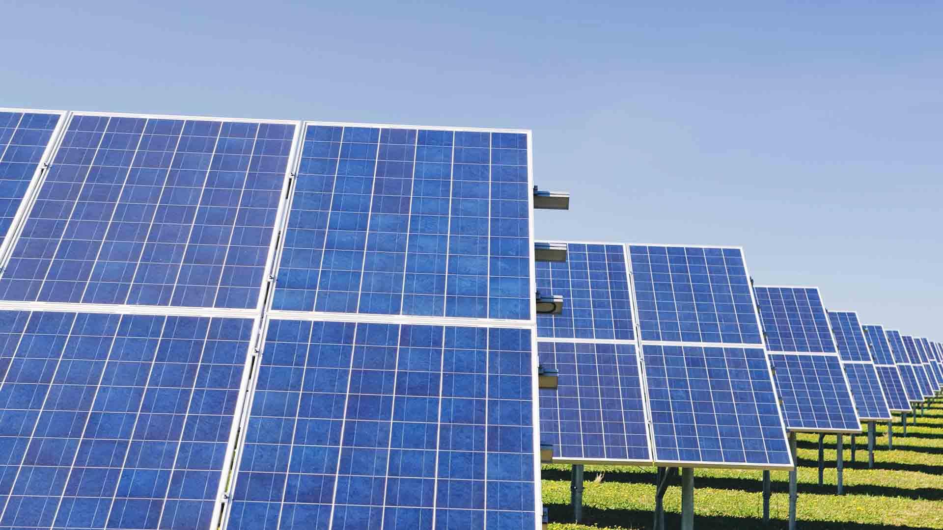 La resa dei pannelli solari ha toccato soglie impensabili cinque anni fa