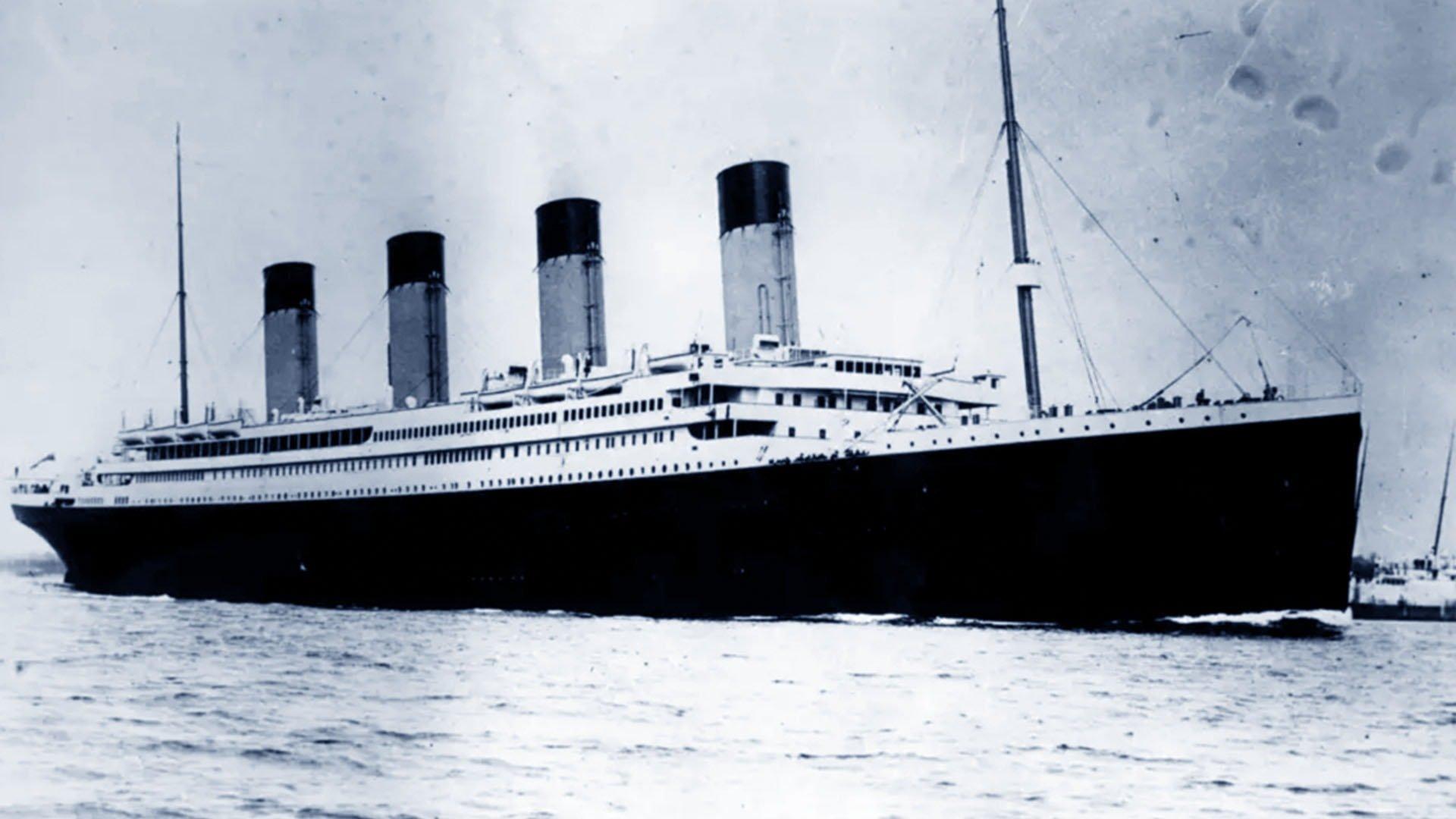 Il naufragio del Titanic avvenne nel Nord dell