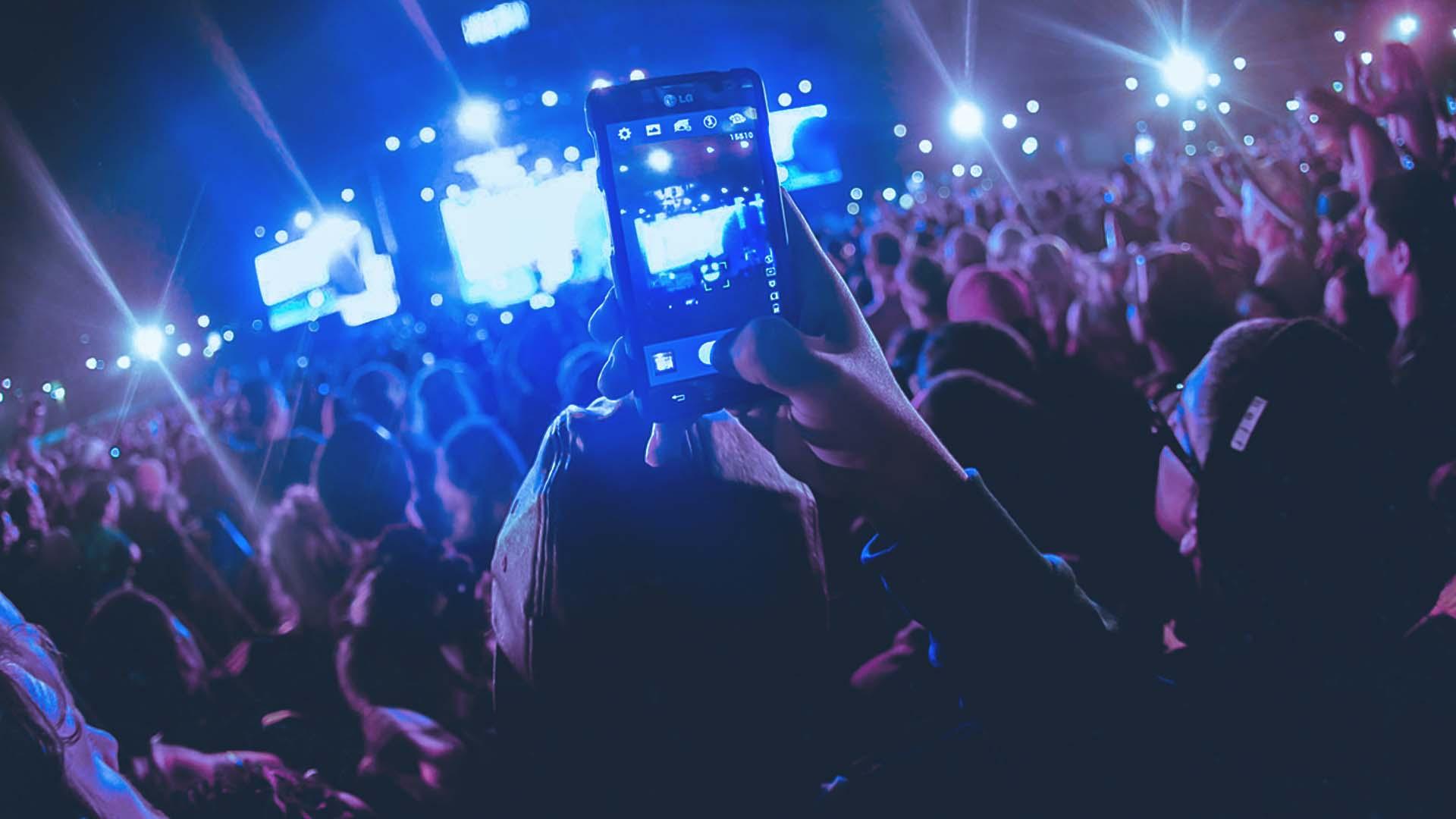 video smartphone concerti