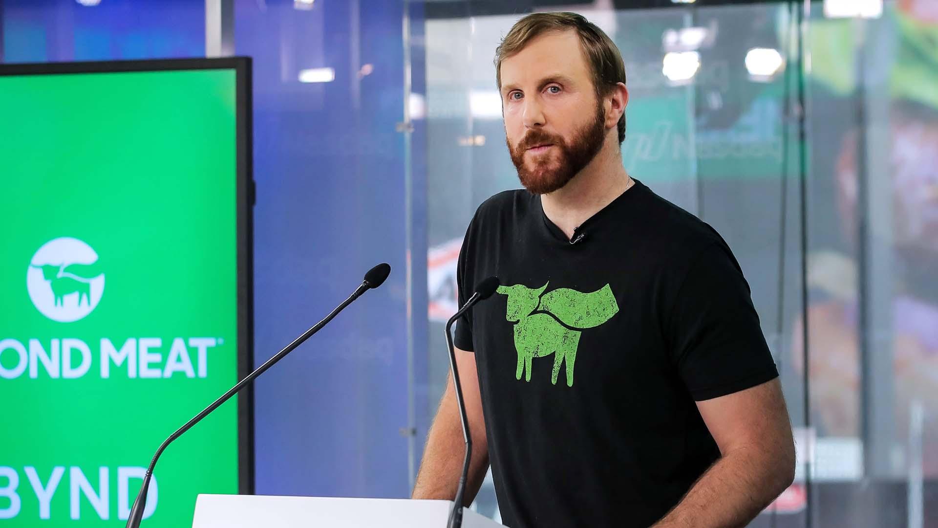 Il vegano Ethan Brown è il CEO di Beyond Meat