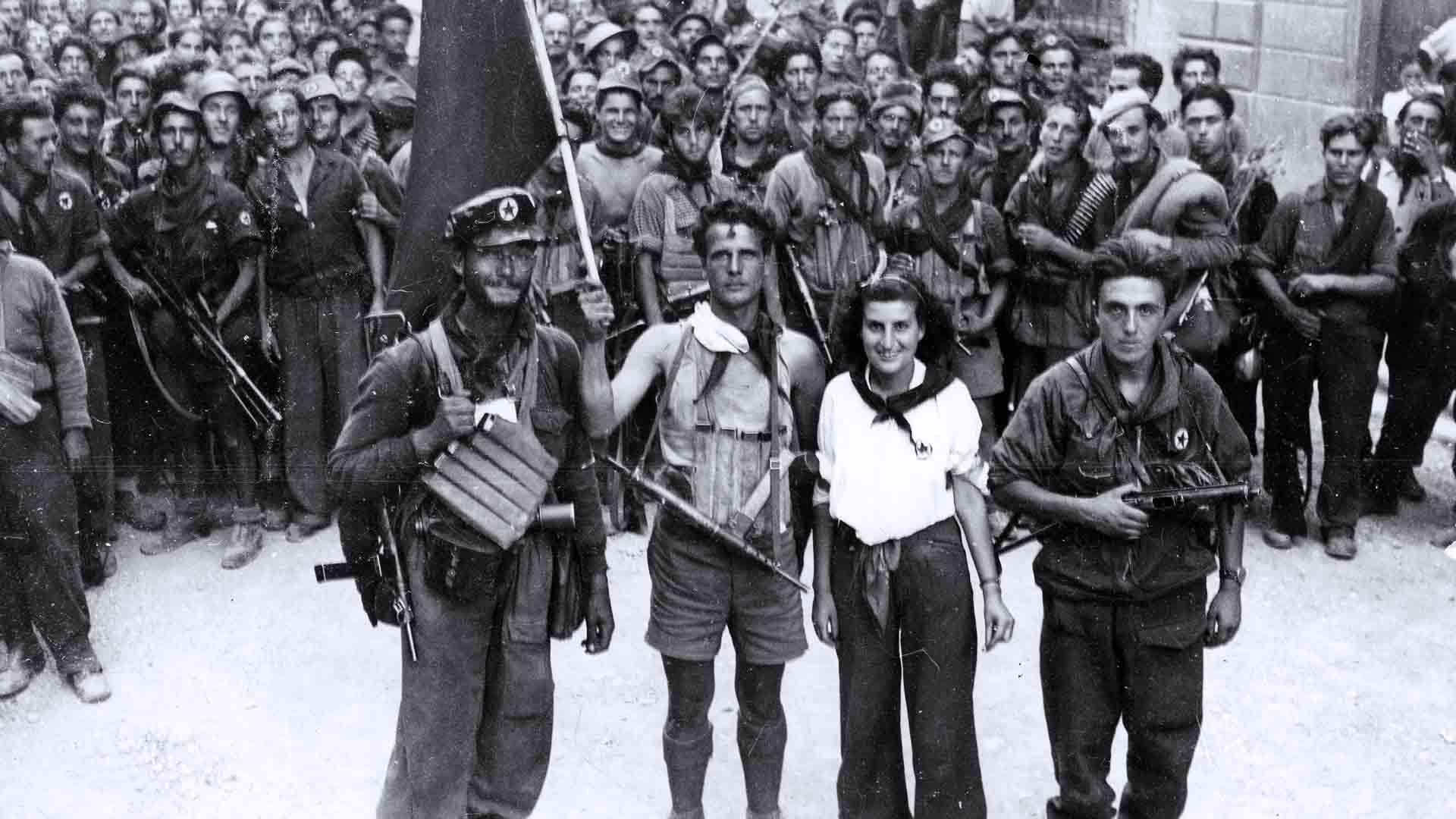 Armata partigiana durante la Liberazione