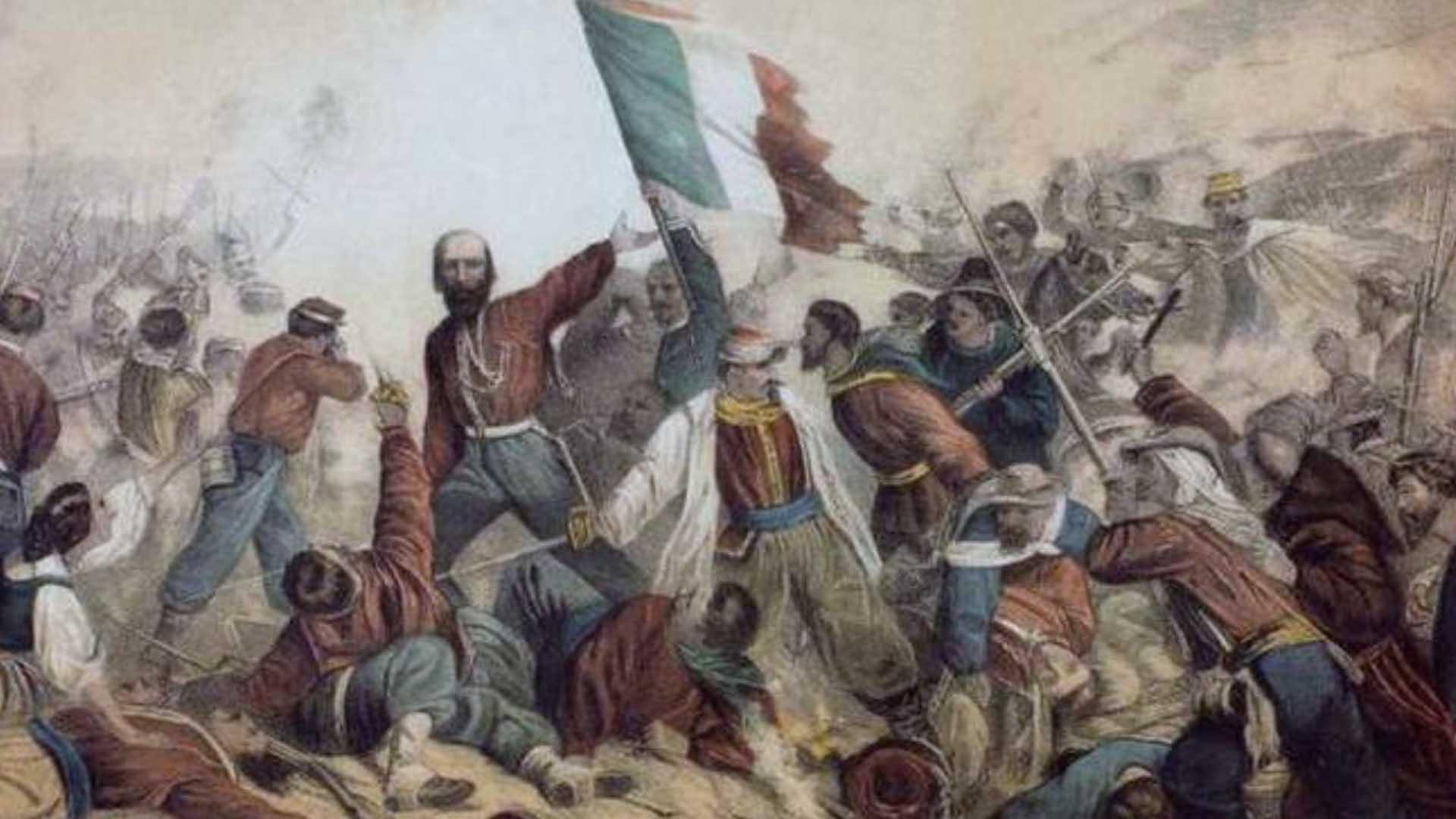 La bandiera italiana risale al Risorgimento