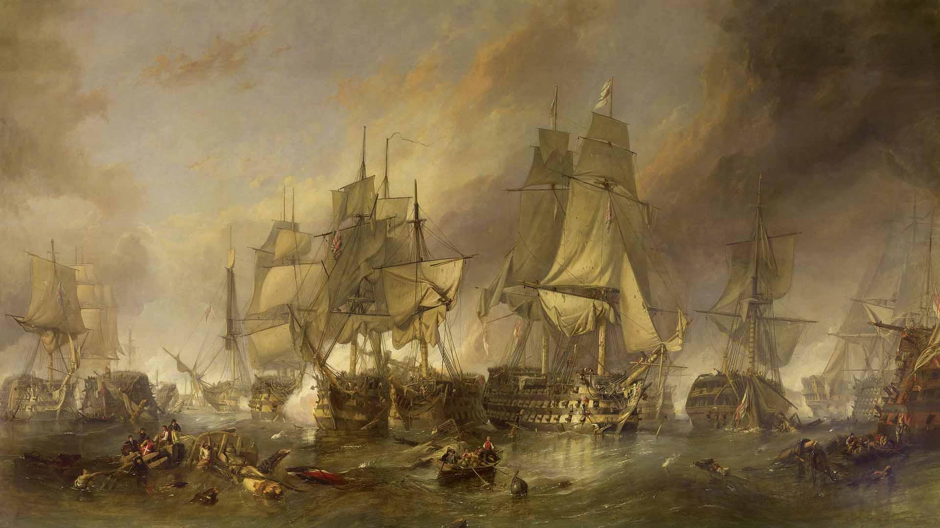 La Battaglia di Trafalgar (1805)