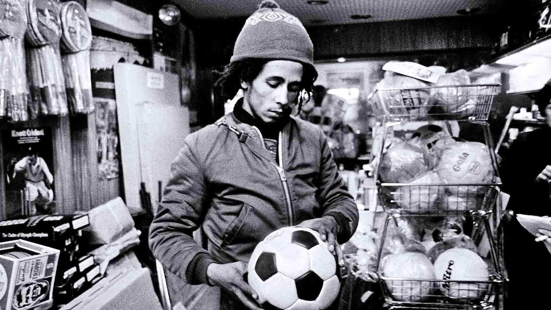 Il calcio era la passione di Bob Marley
