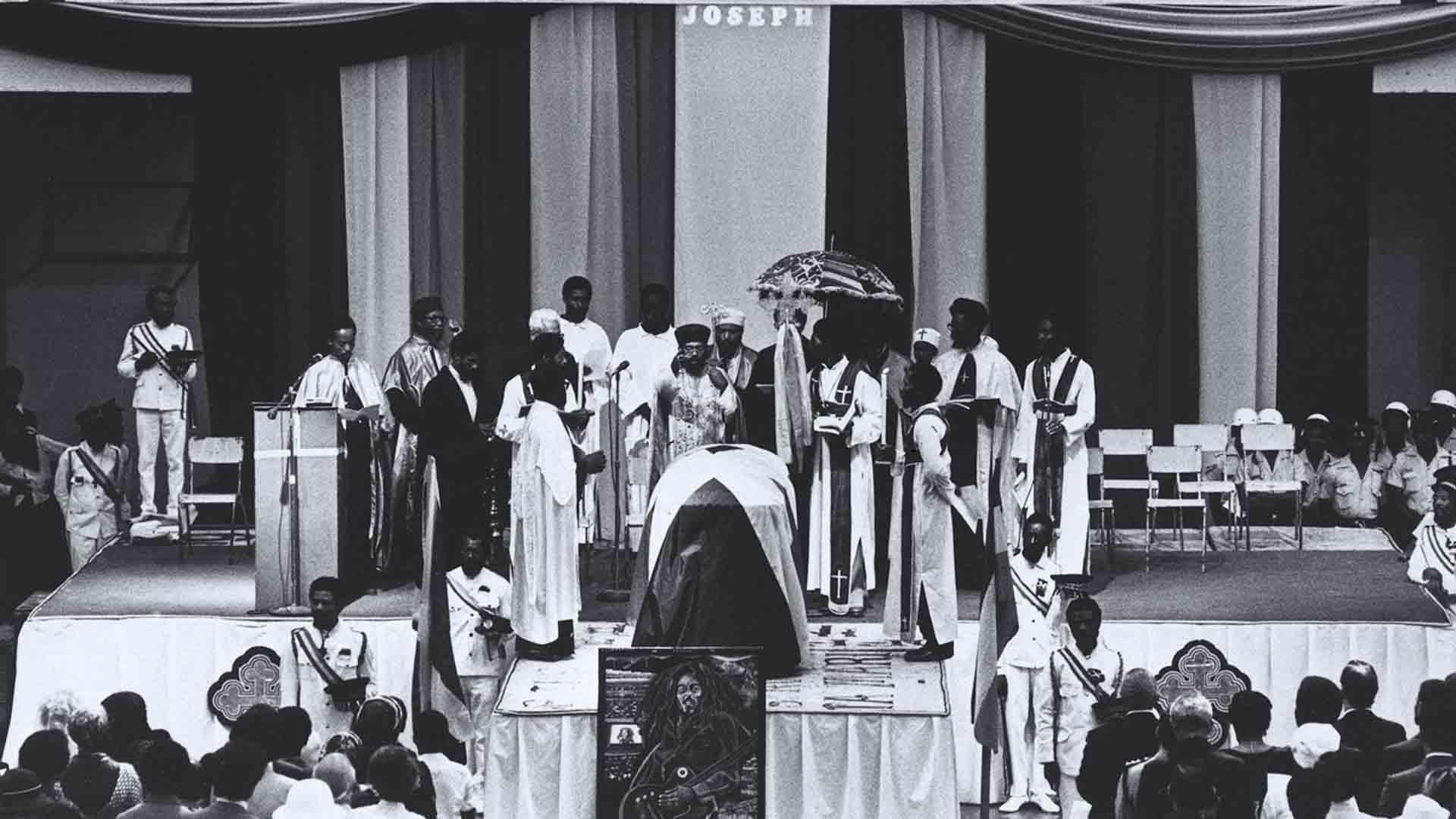 Il funerale di Bob Marley