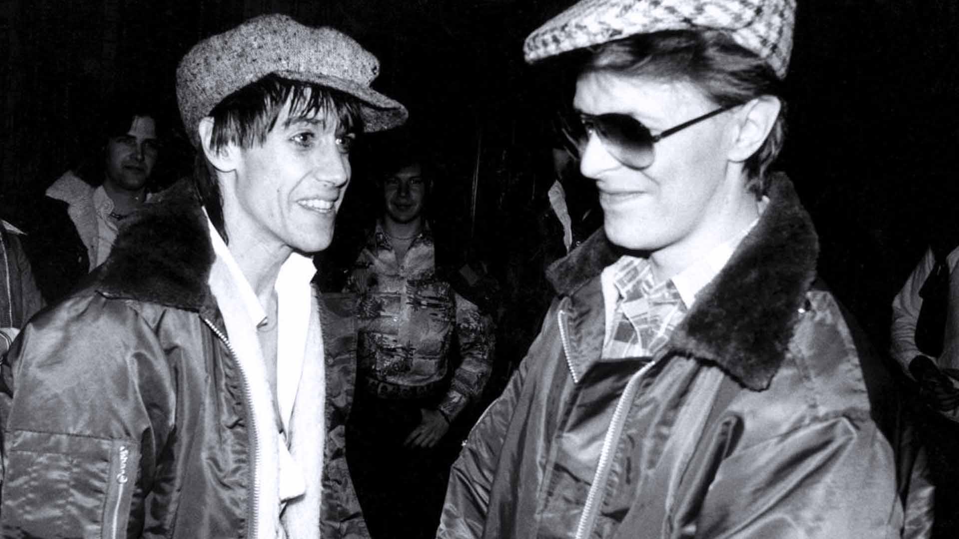 David Bowie e Iggy Pop a Berlino