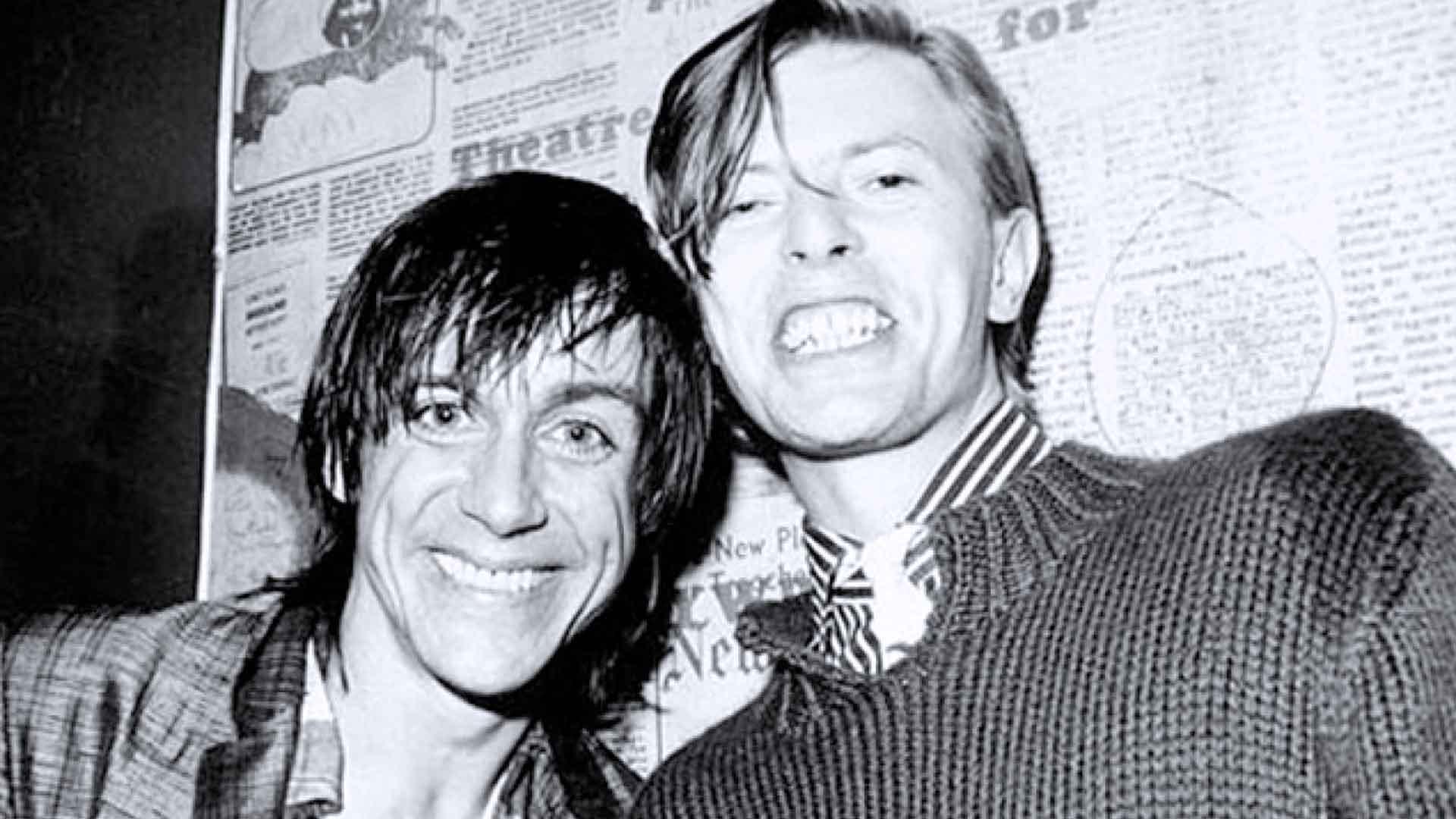 David Bowie salvò Iggy Pop a Berlino