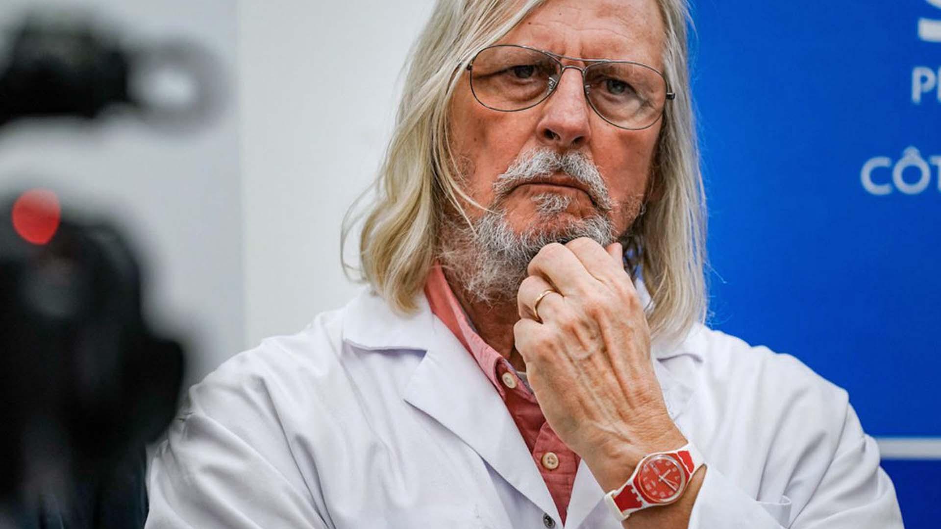 Il dott. Didier Raoult dell