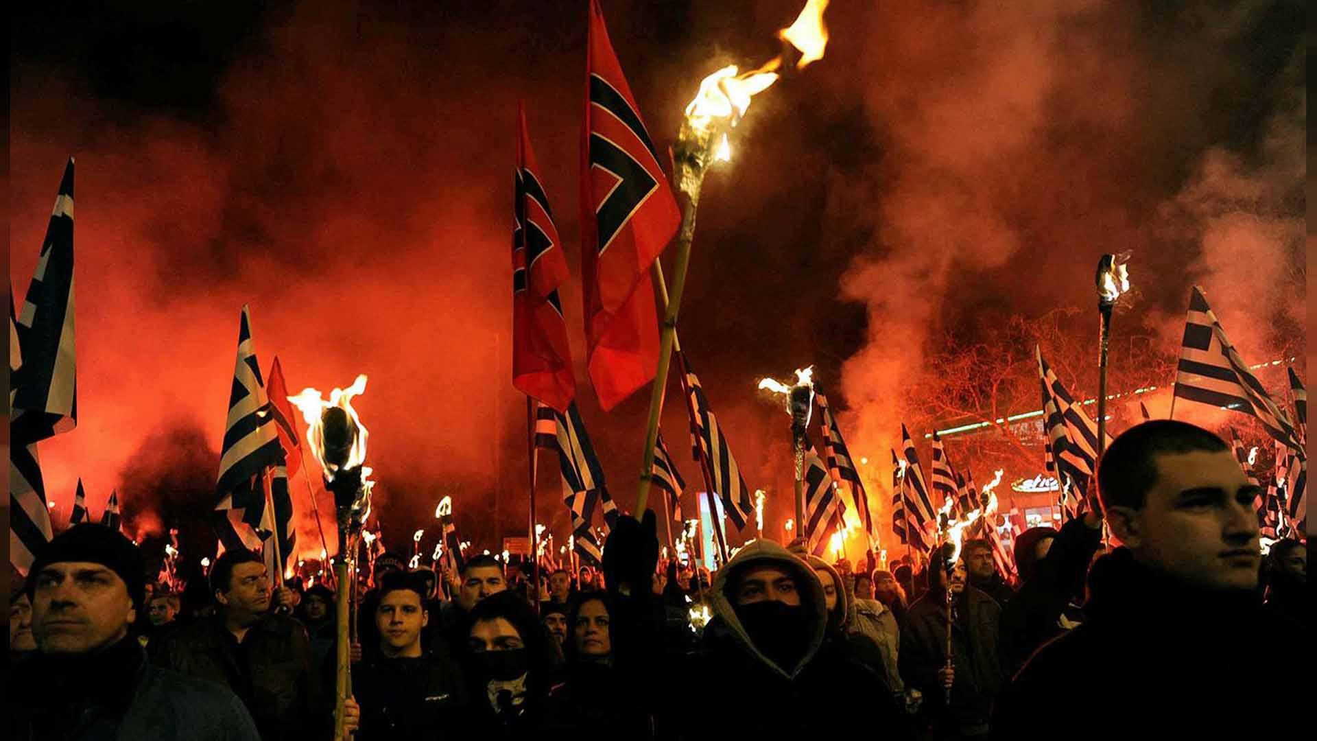 fascisti grecia chios profughi