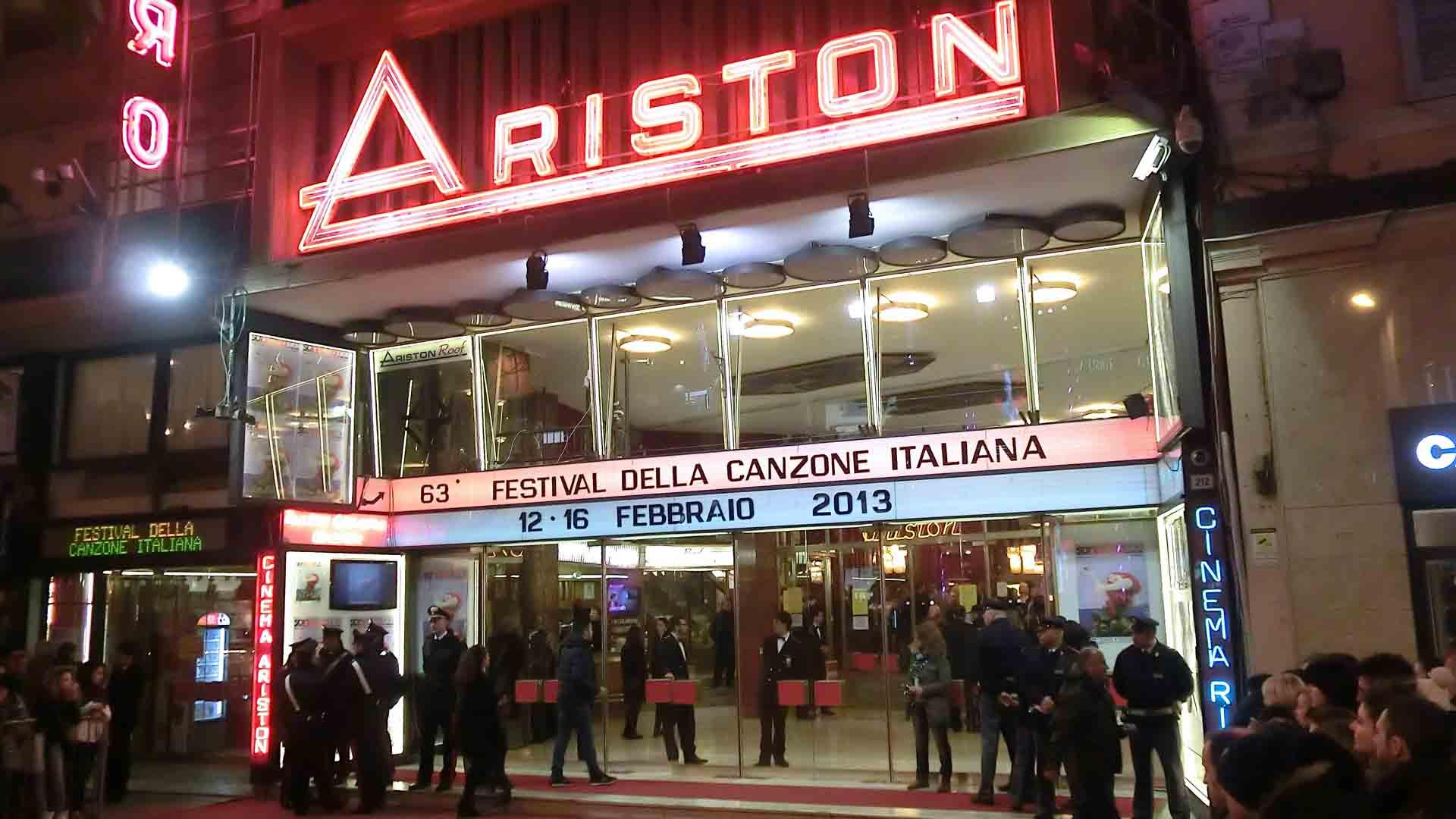 Il Festival di Sanremo al Teatro Ariston