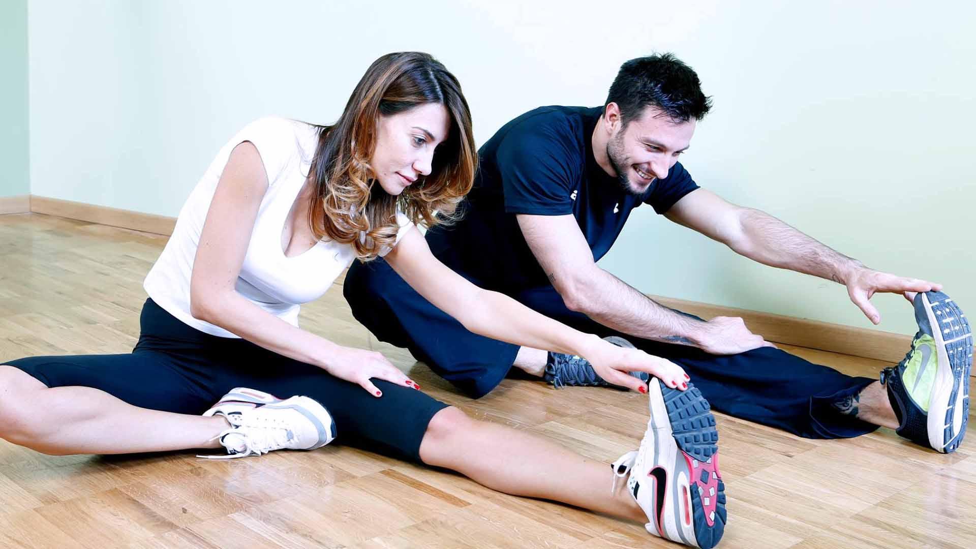 Fate attività come il fitness in casa