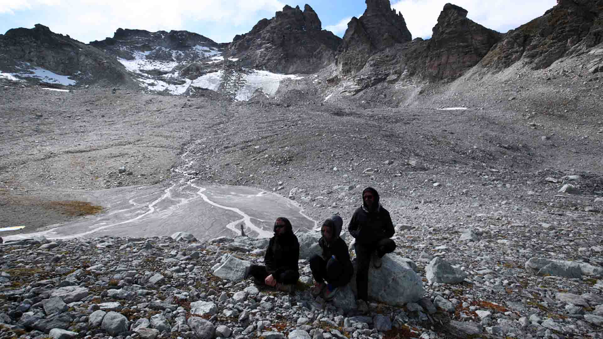 Il ghiacciaio Pizol dopo il funerale