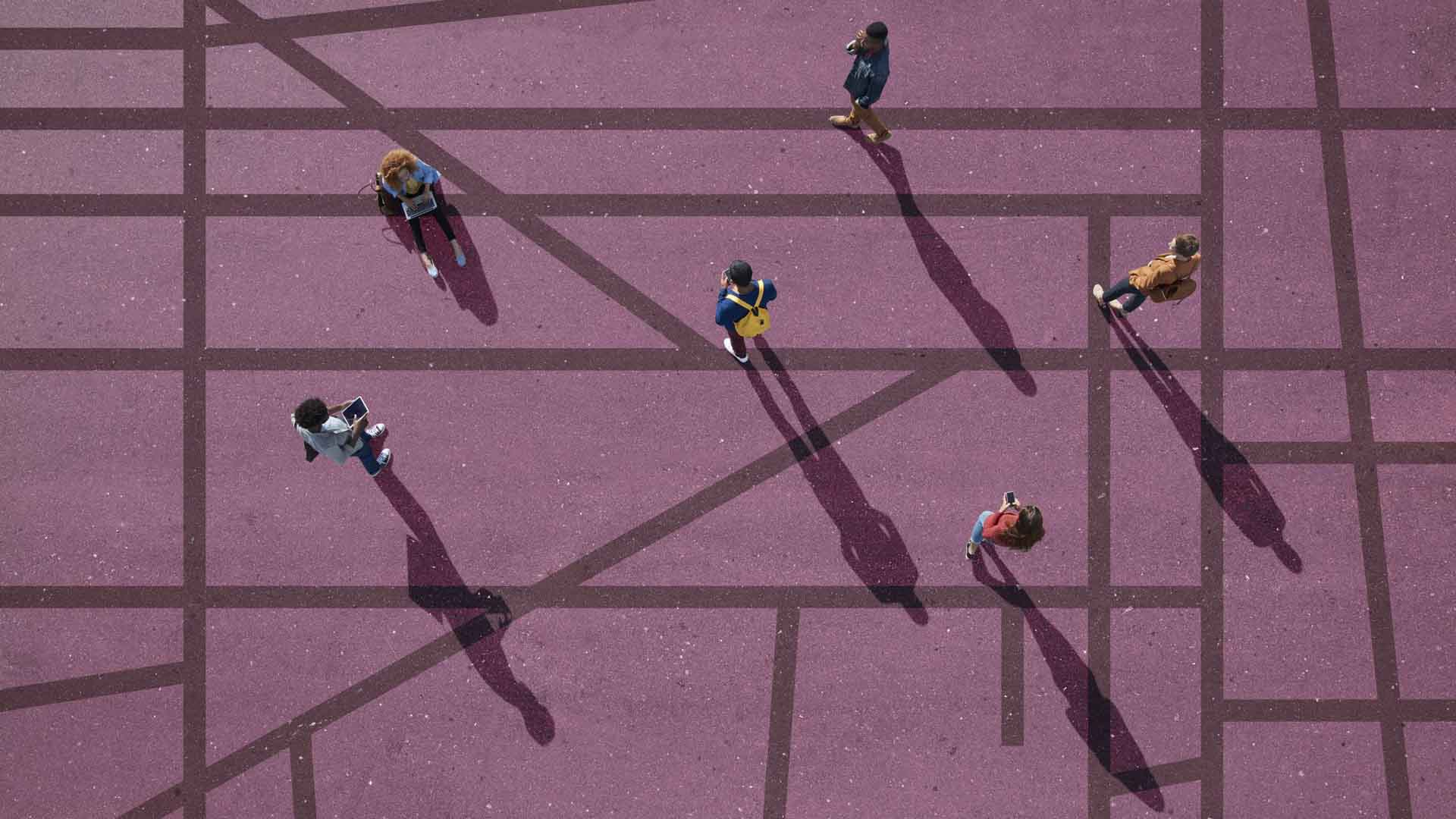 Giovani sottoposti a distanziamento sociale
