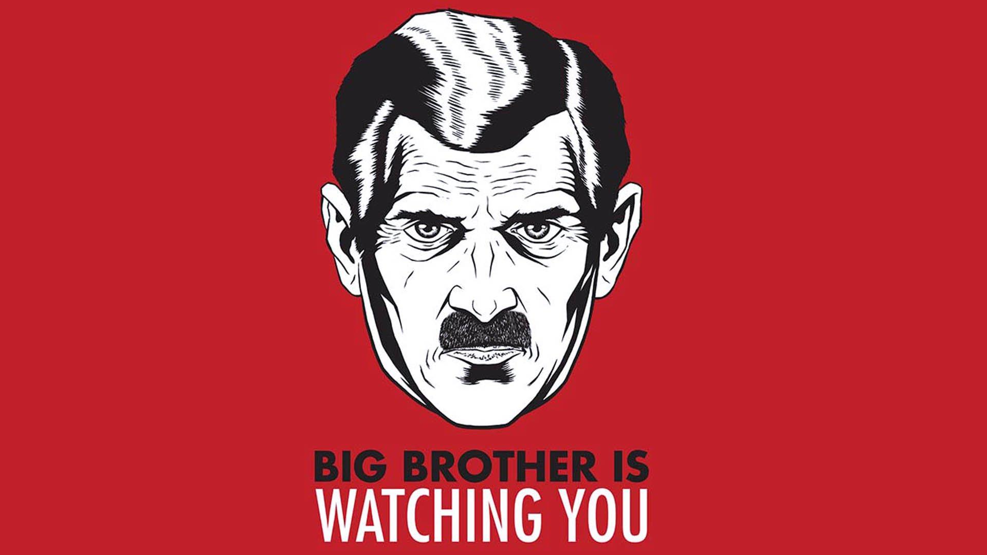 Il Grande Fratello di 1984 di George Orwell