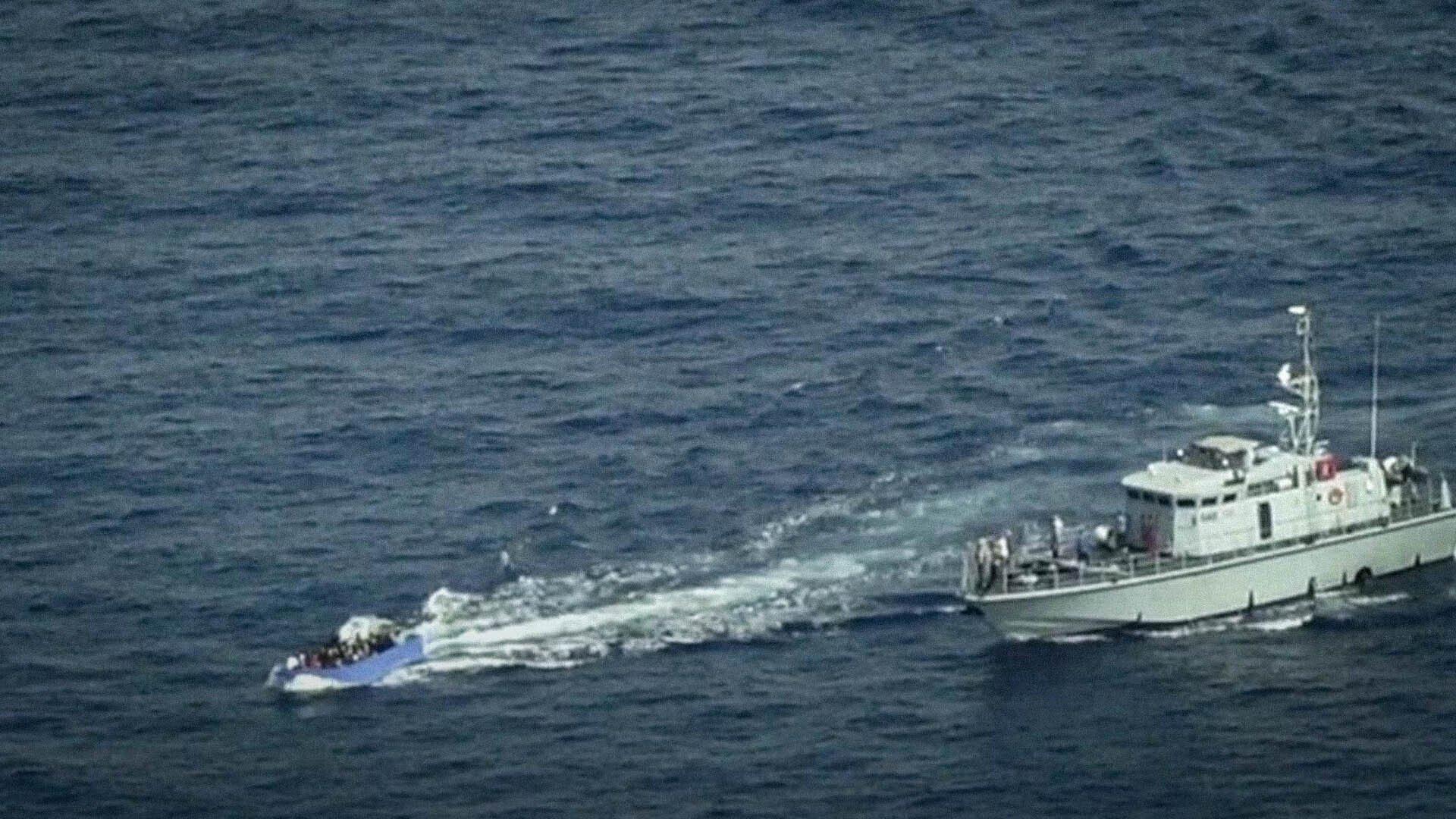 La guardia costiera libica ha usato una motovedetta donata dall